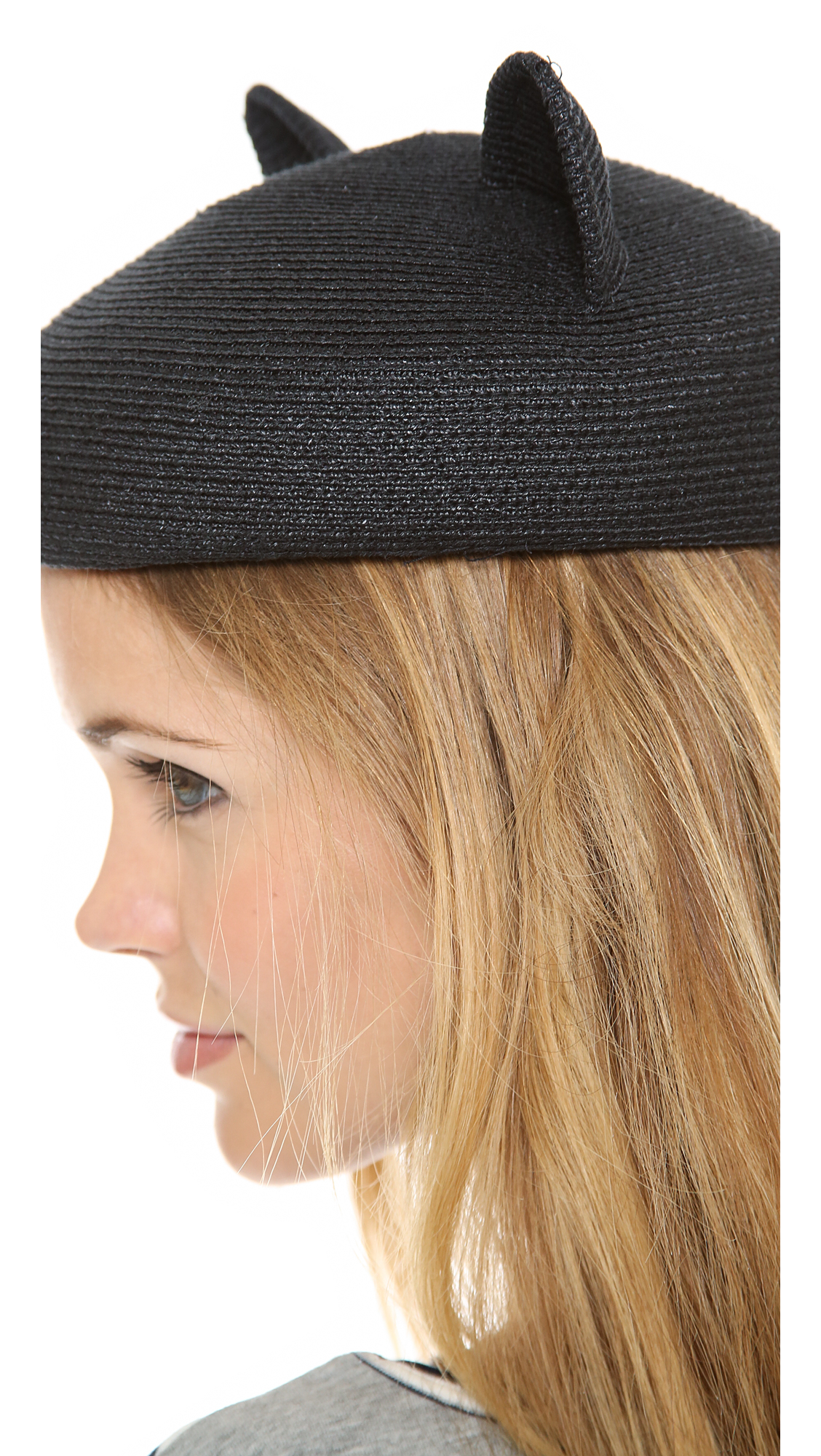 32f5932c653 Eugenia Kim Caterina Hat Black in Black - Lyst