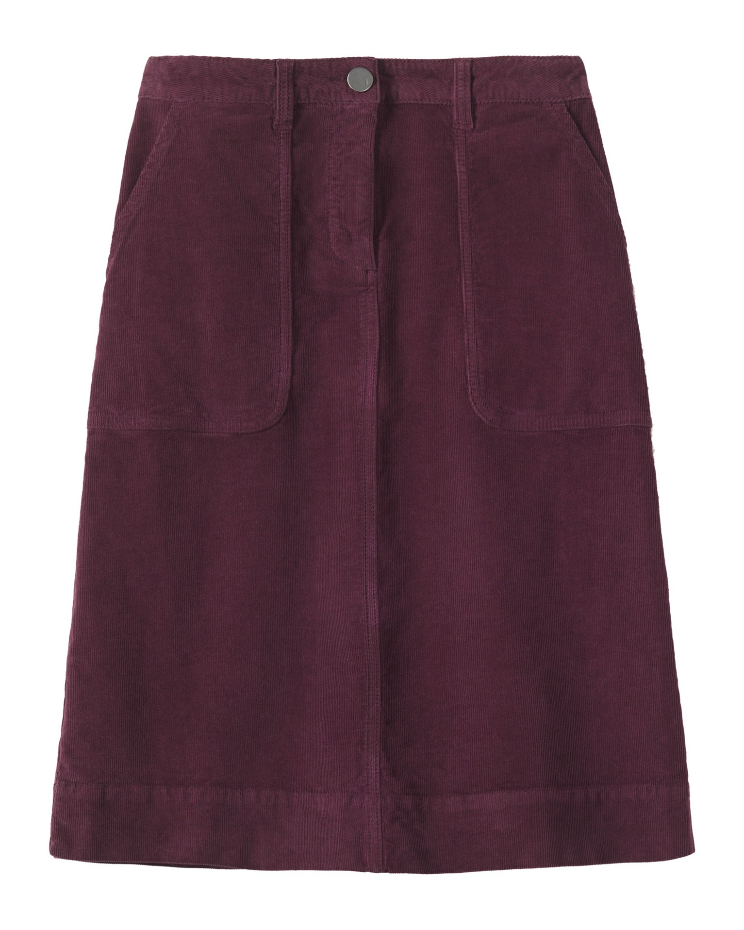 toast cord a line skirt in purple berry lyst