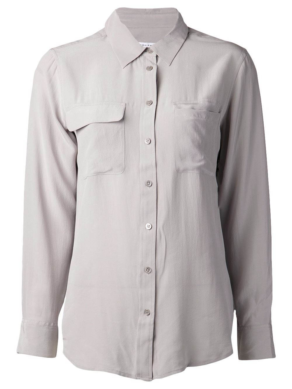 c7deb2c8348b62 Equipment Femme Silk Shirts