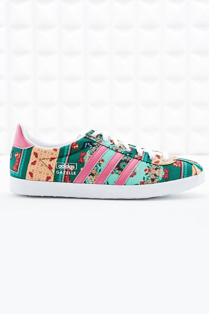 Womens Adidas Gazelle Og Iii Trainers Pink