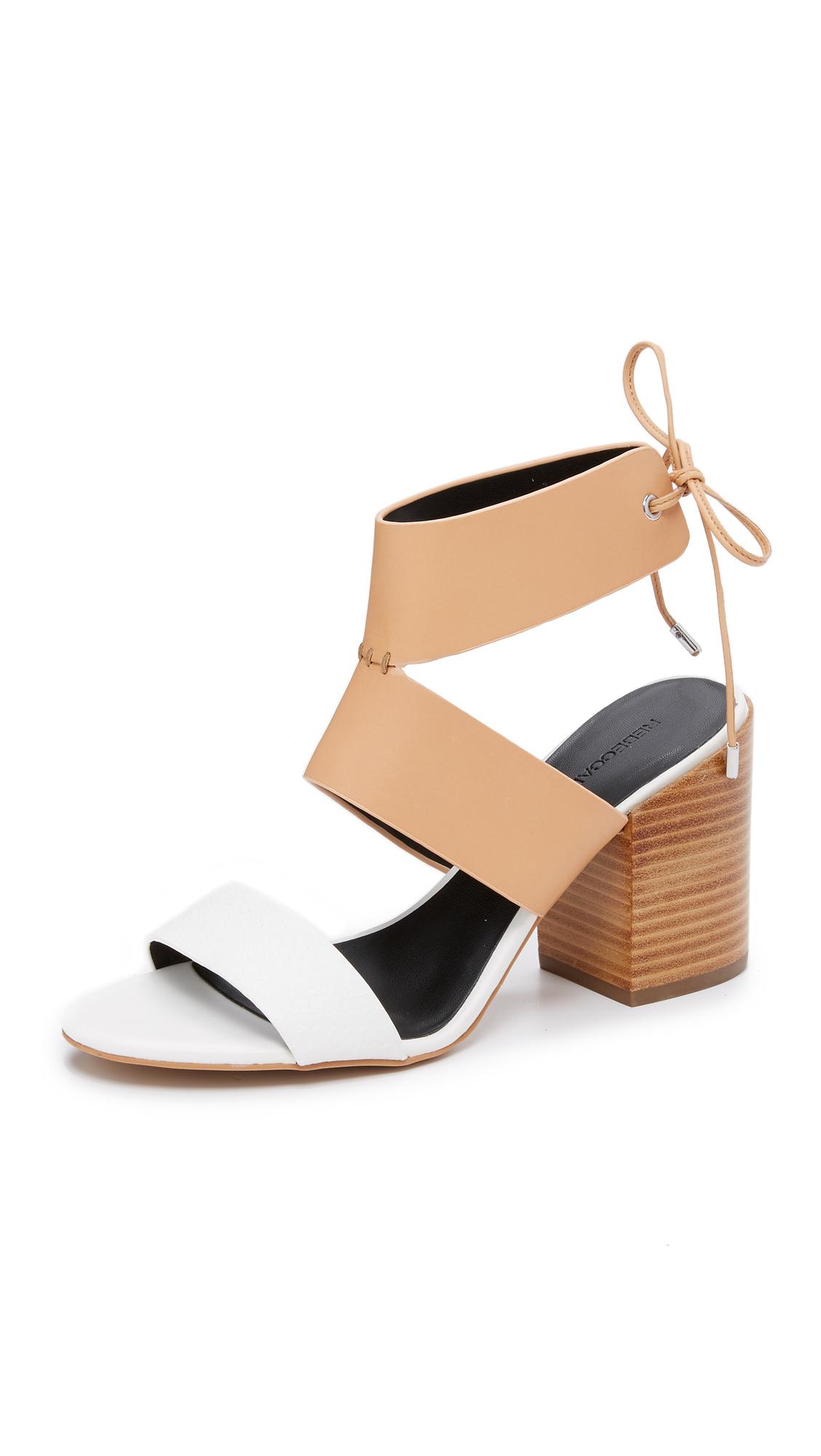 Sandale Entredoigt Blanc Rebecca jMLoe