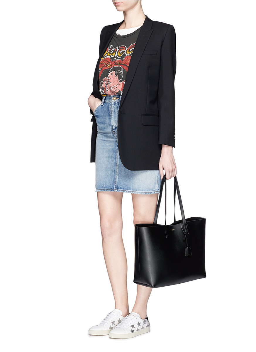 Saint Laurent large shopper tote bag Free Shipping High Quality RyYQpO37