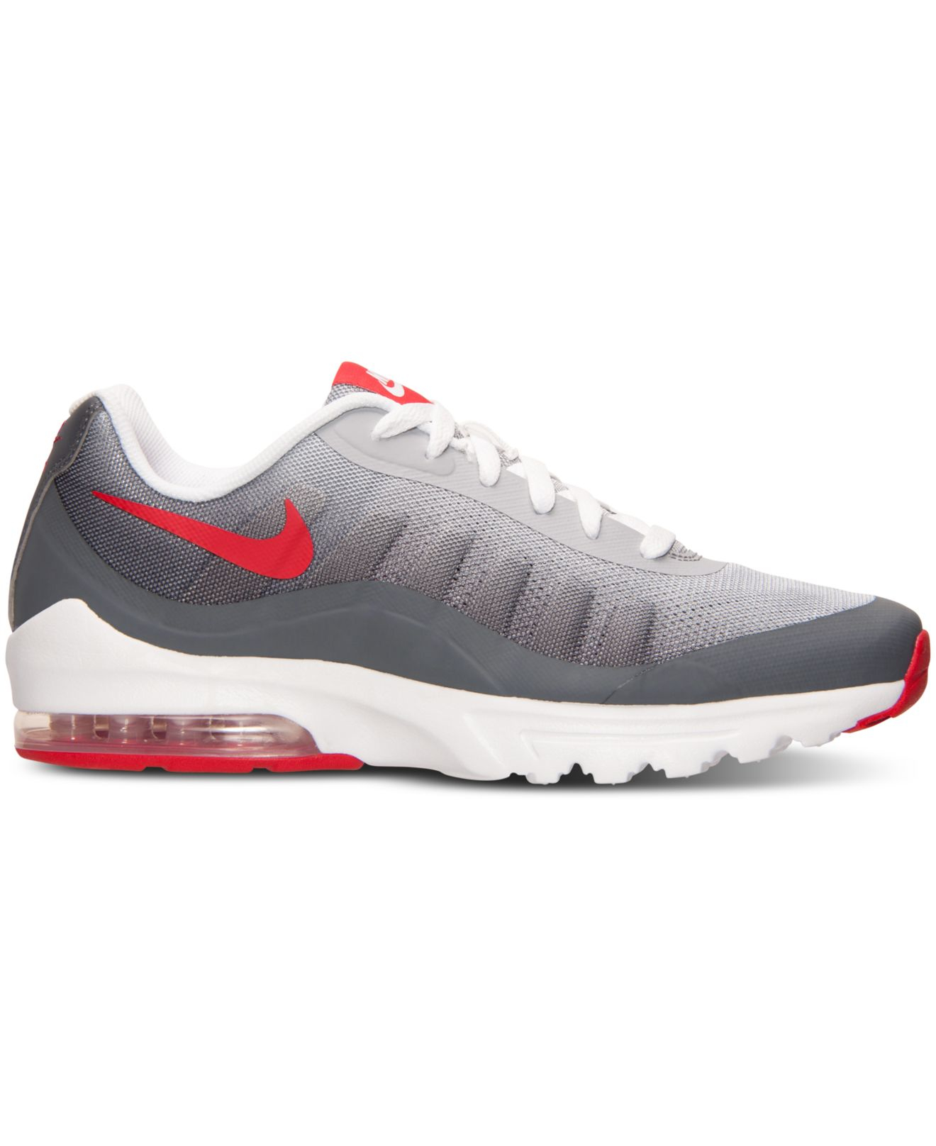 Nike Shoes  Nike Air Max Invigor Print Mens Sports Shoes GreyRedWhite