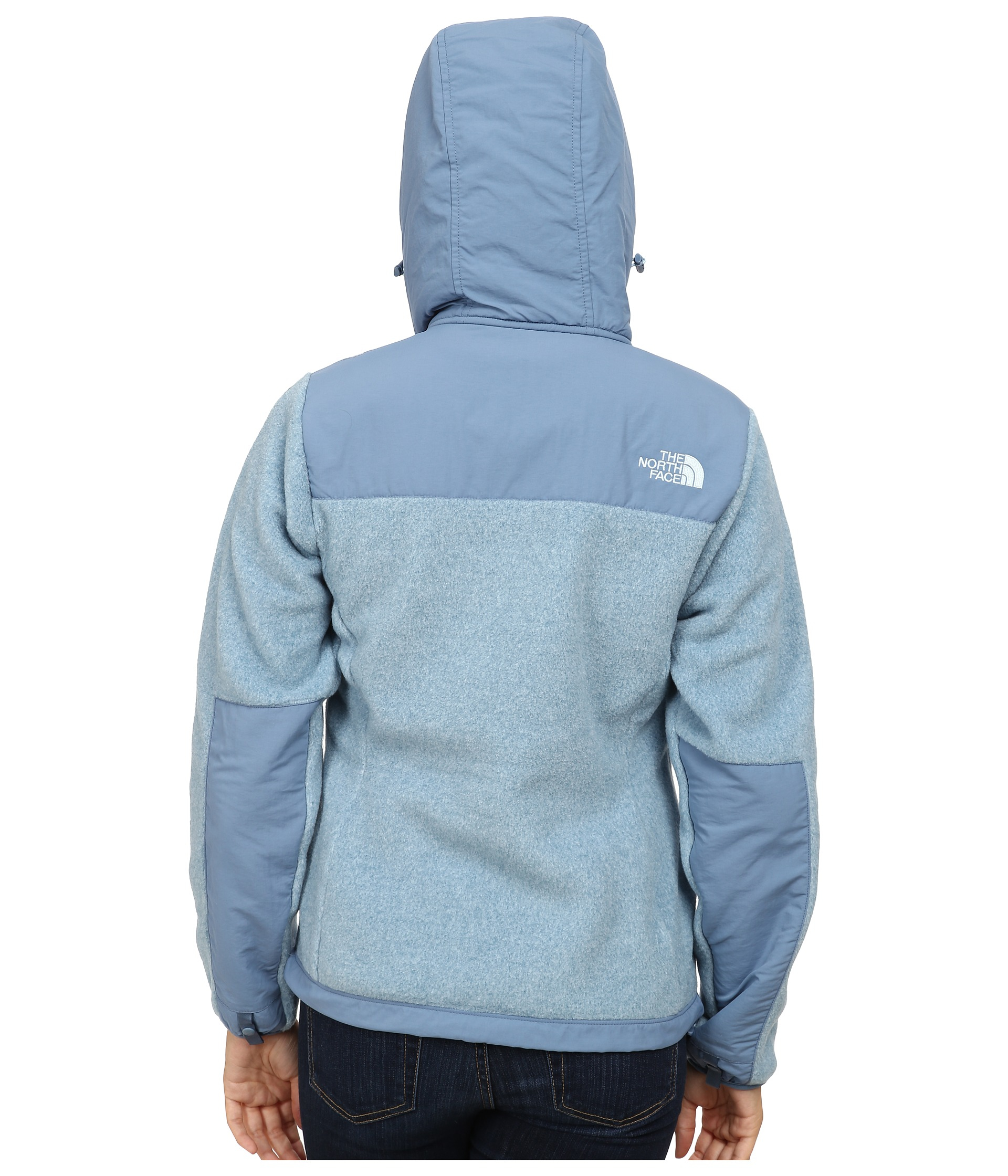 North Face Denali Hoodie Womens Blue 58