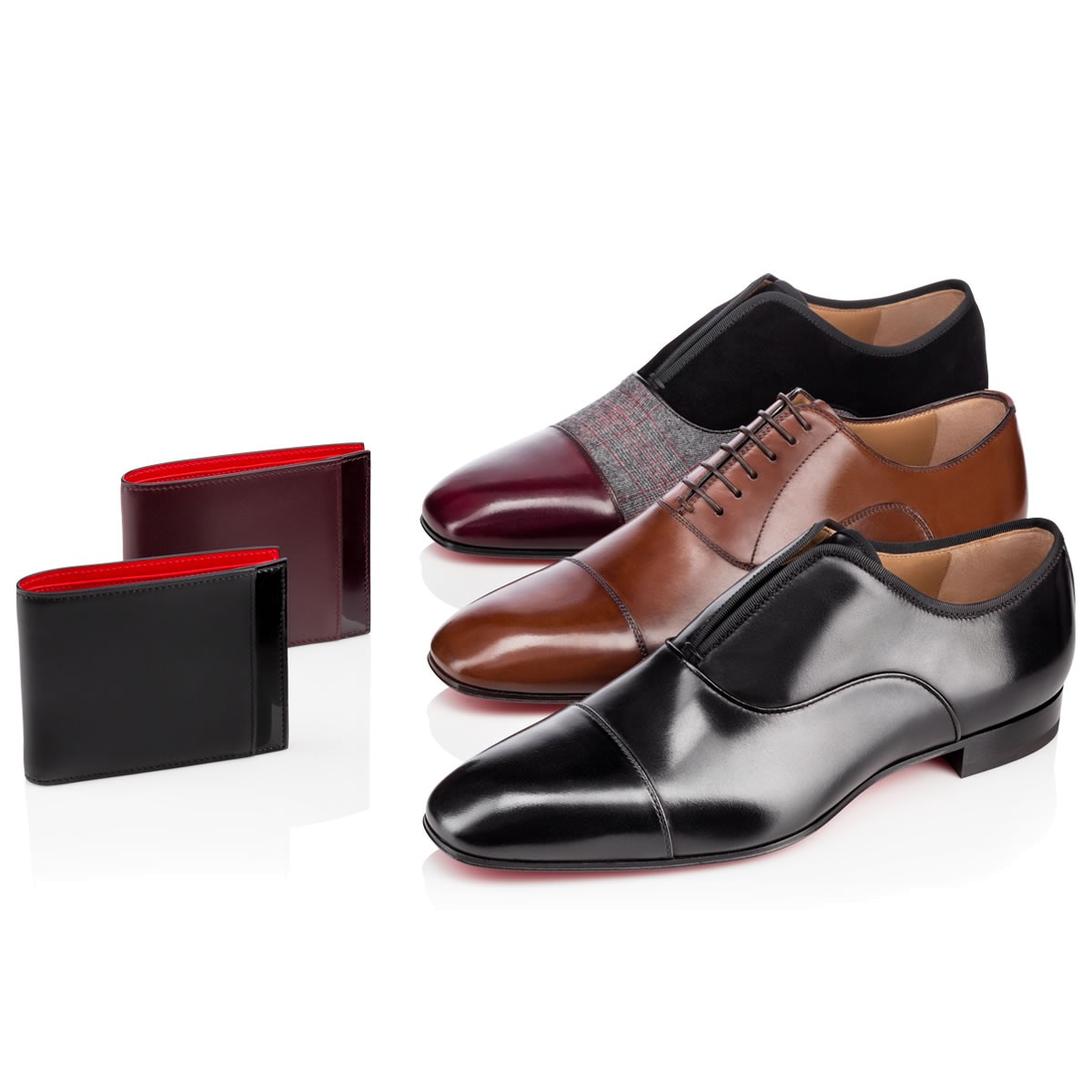 us replica shoes christian louboutin - christian louboutin leather Olympio Flat Brogues | cosmetics ...