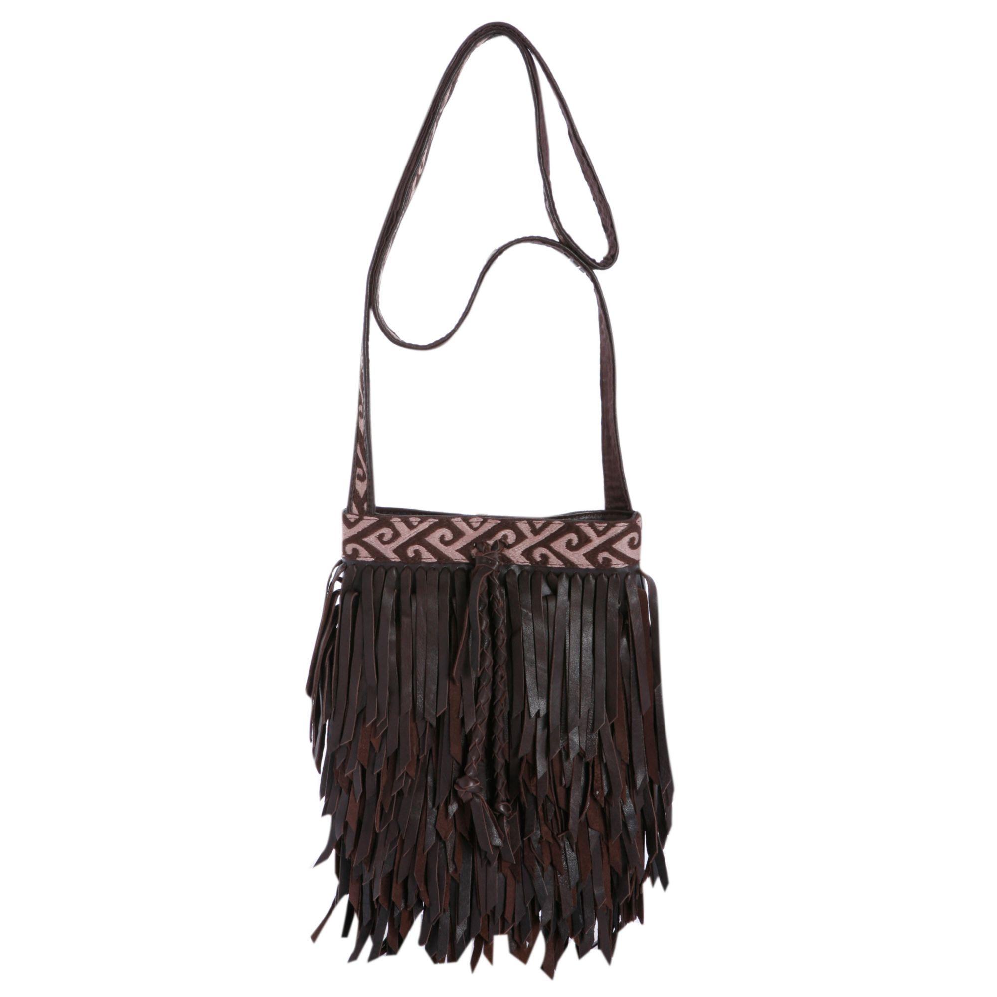 lucky brand lucky topanga fringe crossbody bag in