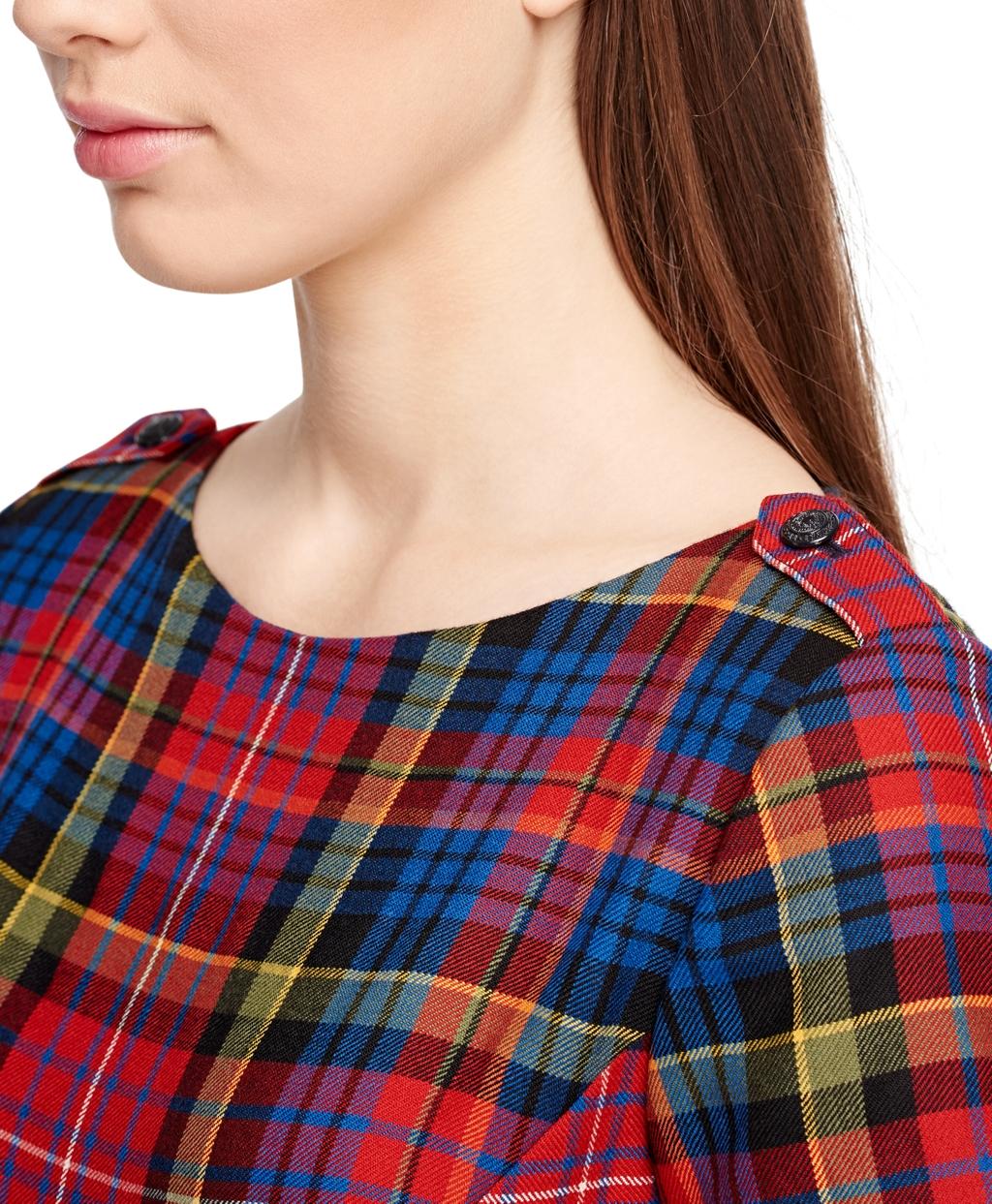 2a4b4373f9e26 Brooks Brothers Wool Tartan Dress - Lyst