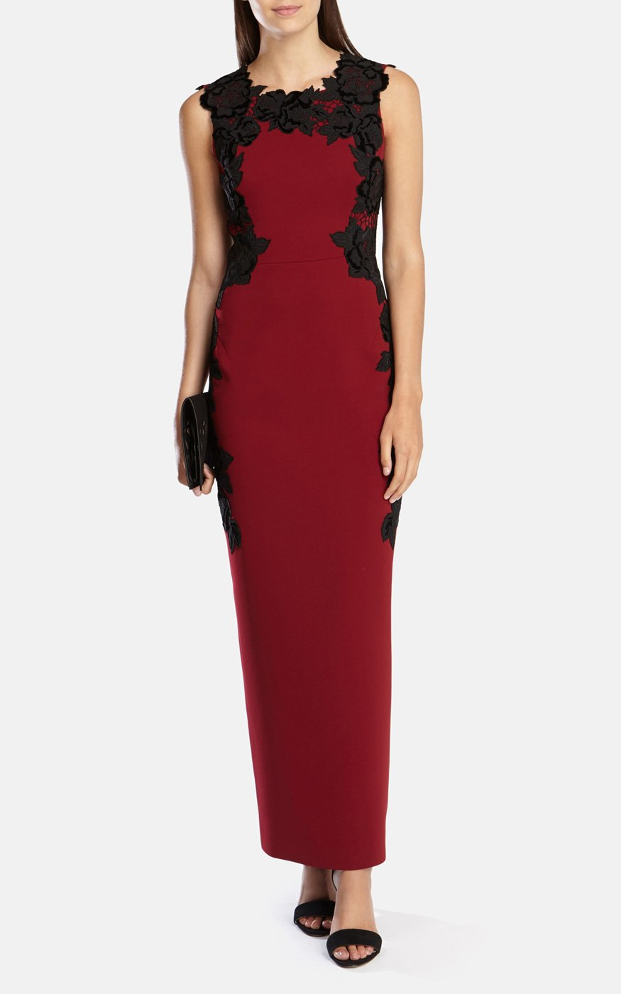 933c438ea10 ... hot karen millen floral appliquÉ pencil dress black 3 gallery gallery  gallery 24969 211ed