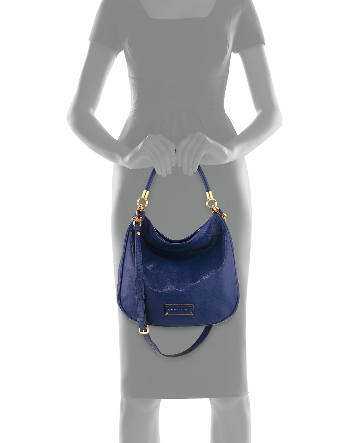 24d8d5fe860d Lyst - Marc By Marc Jacobs Too Hot To Handle Hobo Bag in Blue