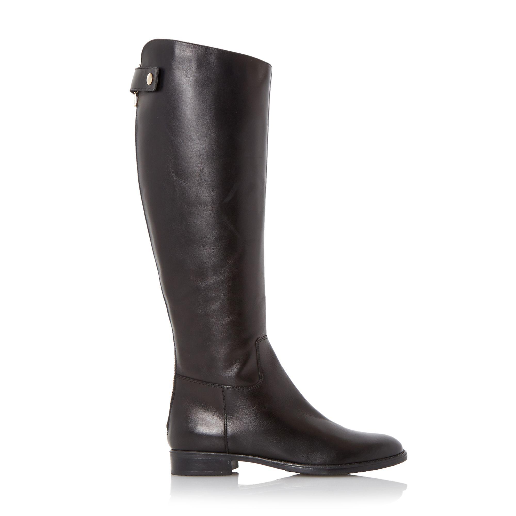 episode tiller zip back knee high boots in black lyst