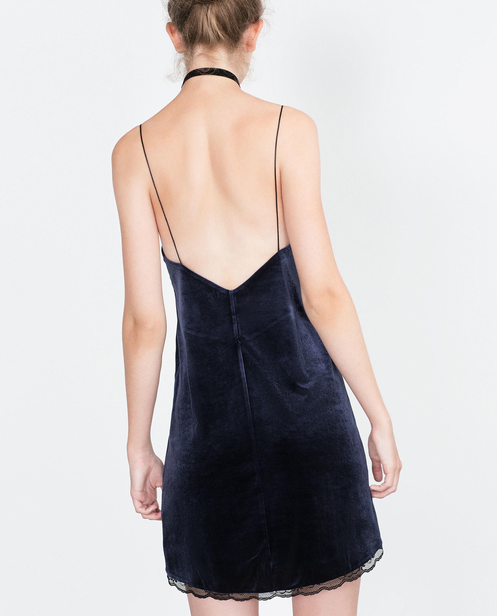 Long velvet dress zara fashion dresses long velvet dress zara ombrellifo Image collections