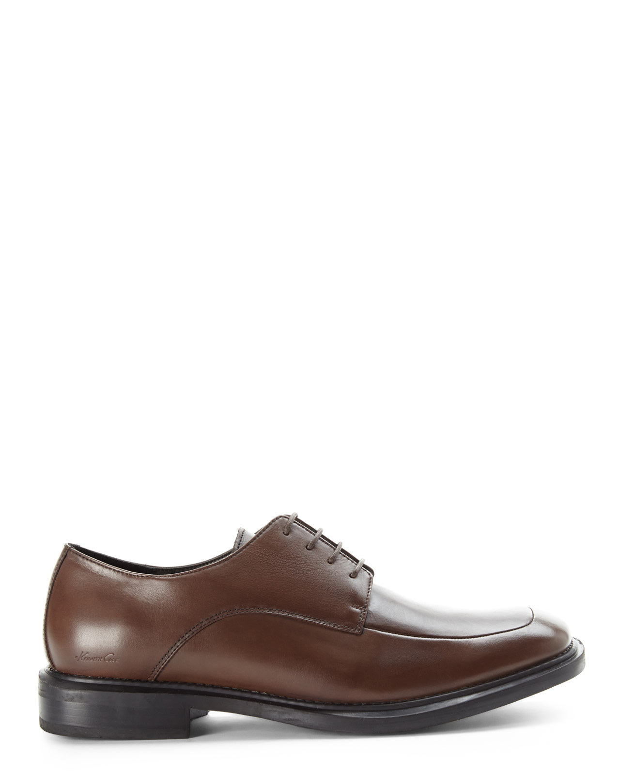 Kenneth cole Brown Merge Oxfords in Brown for Men