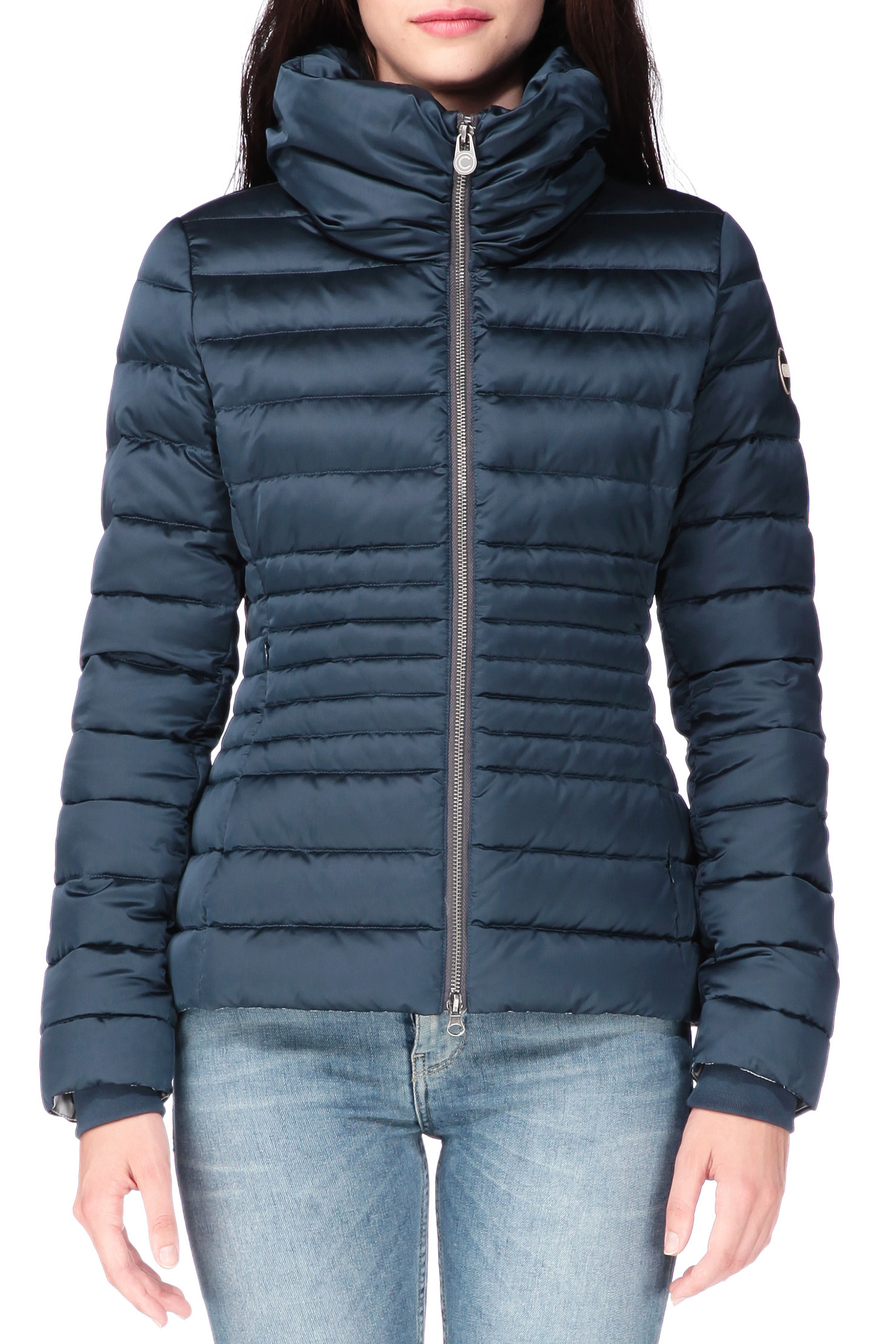 colmar quilted jacket in blue lyst. Black Bedroom Furniture Sets. Home Design Ideas