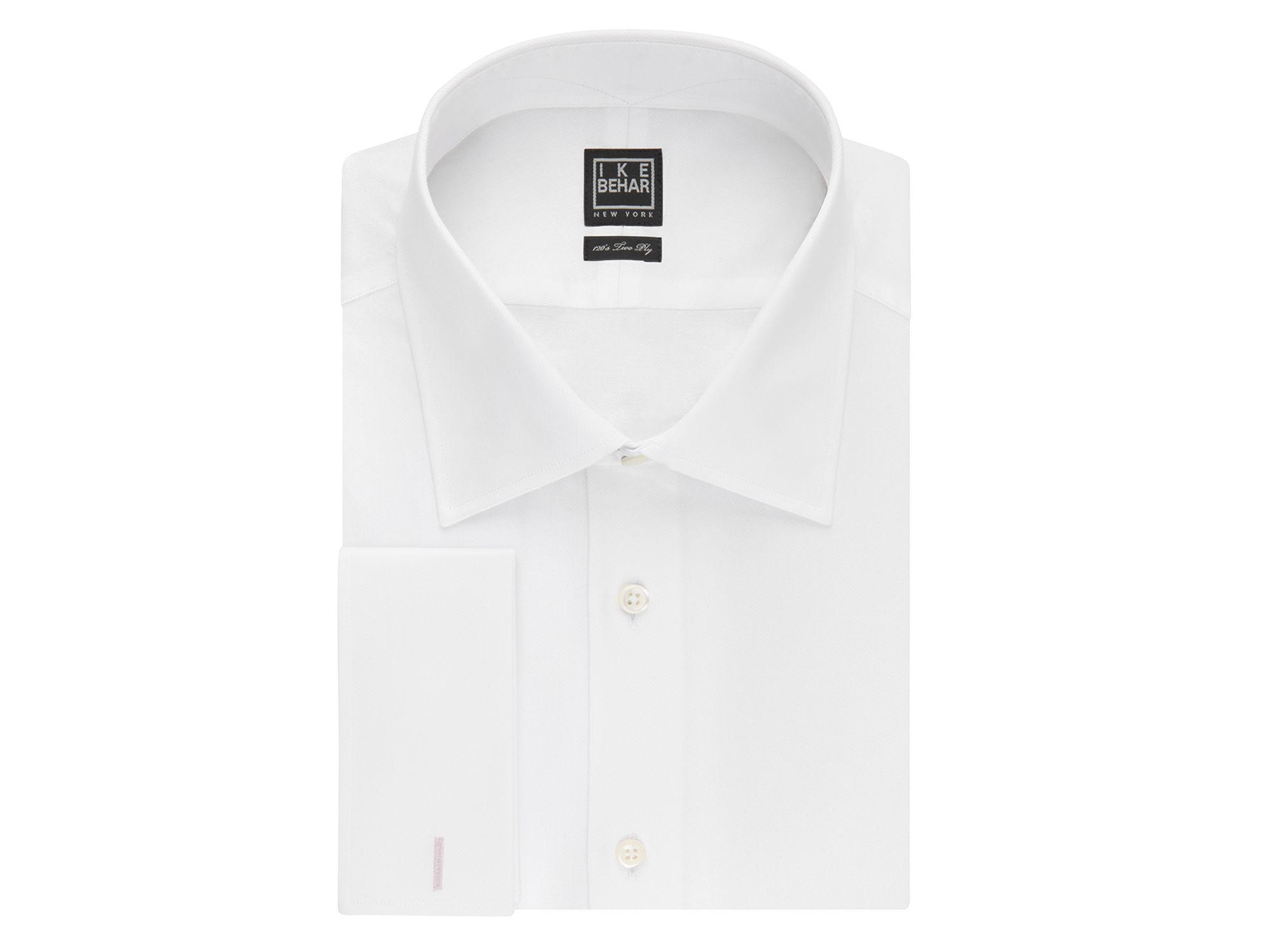 Lyst Ike Behar Solid French Cuff Classic Fit Dress Shirt