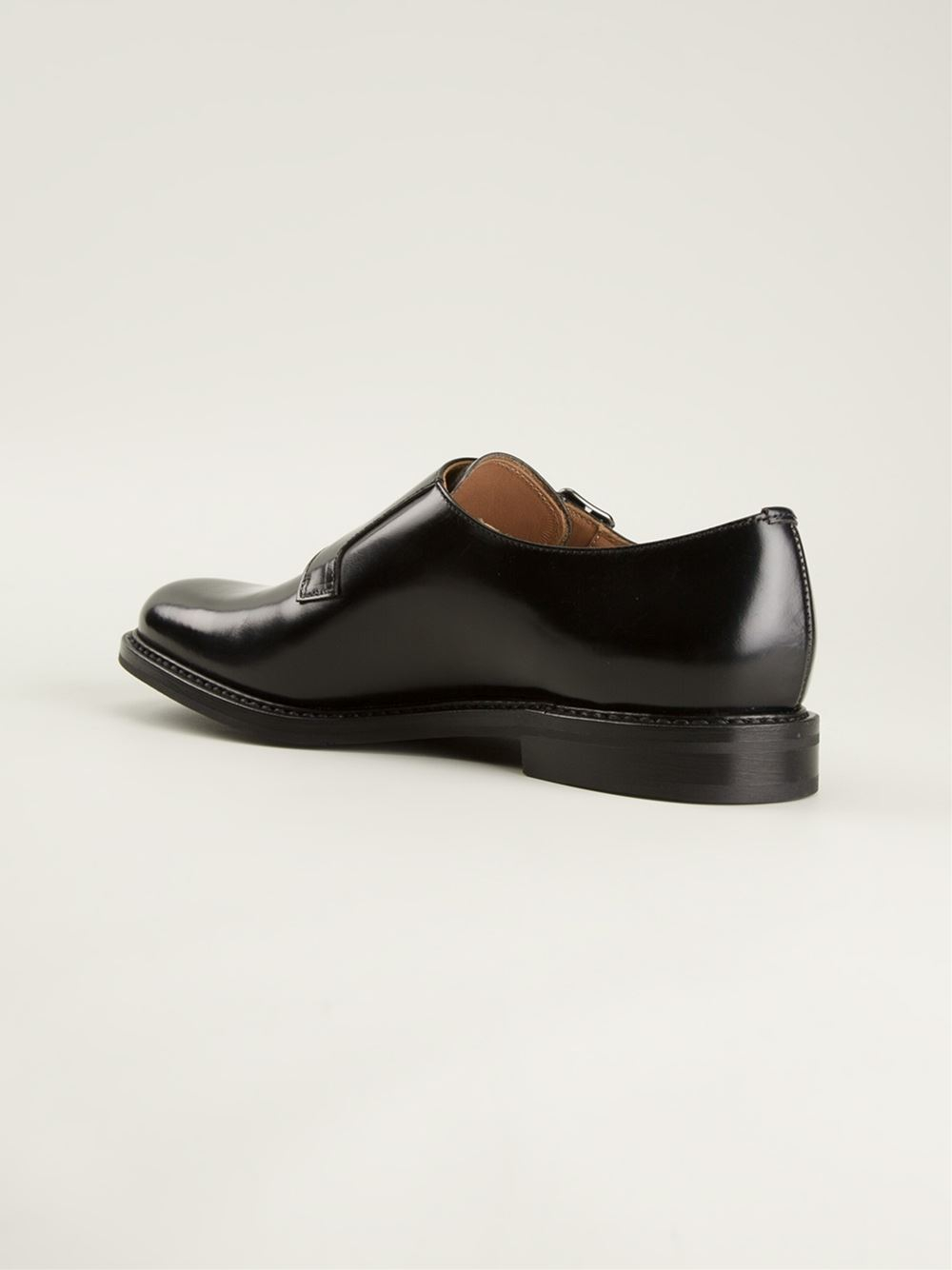 church s monk shoes in black lyst