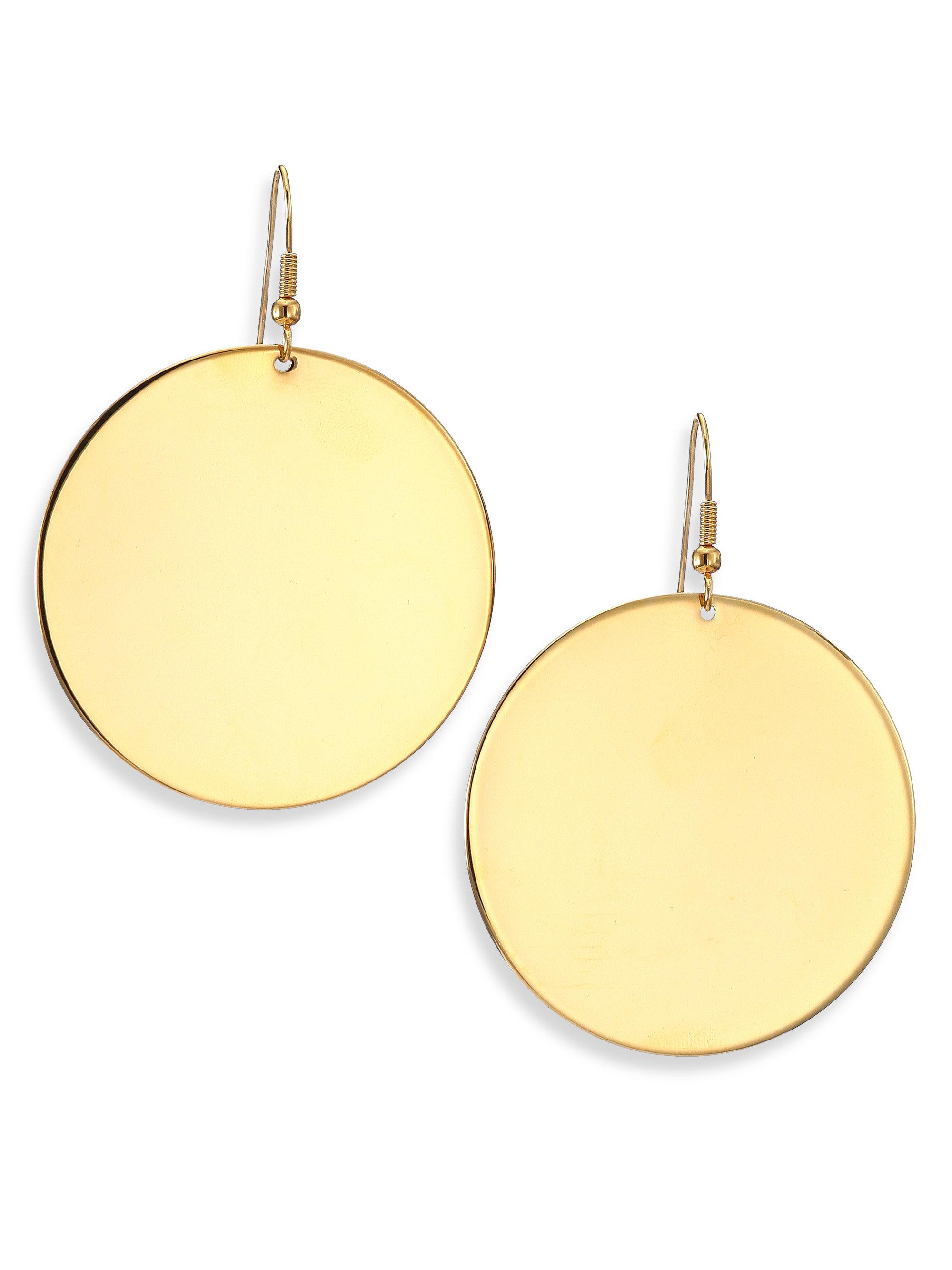 Permalink to Sterling Silver Disc Earrings