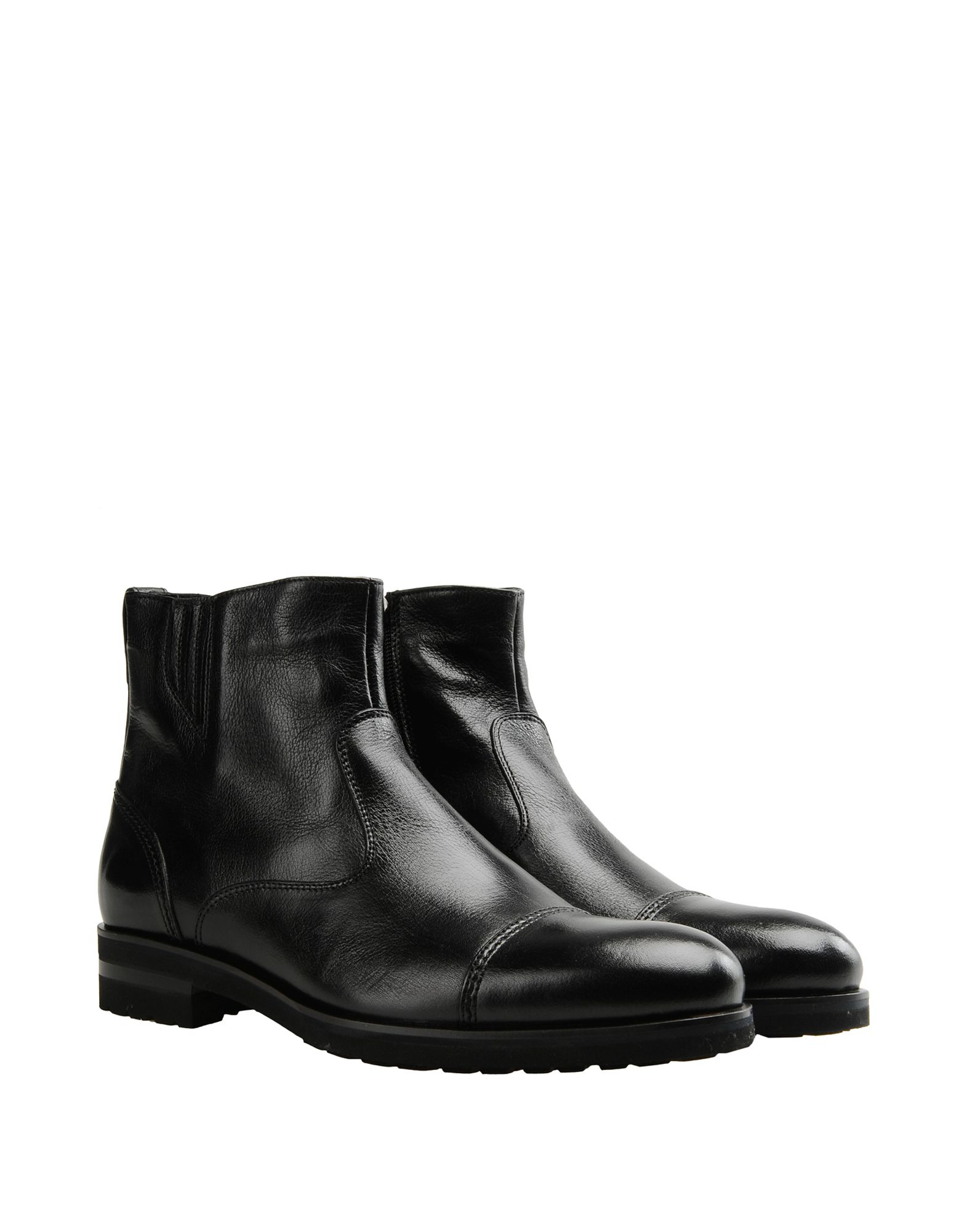 CARLO PAZOLINI Ankle boot Black Men