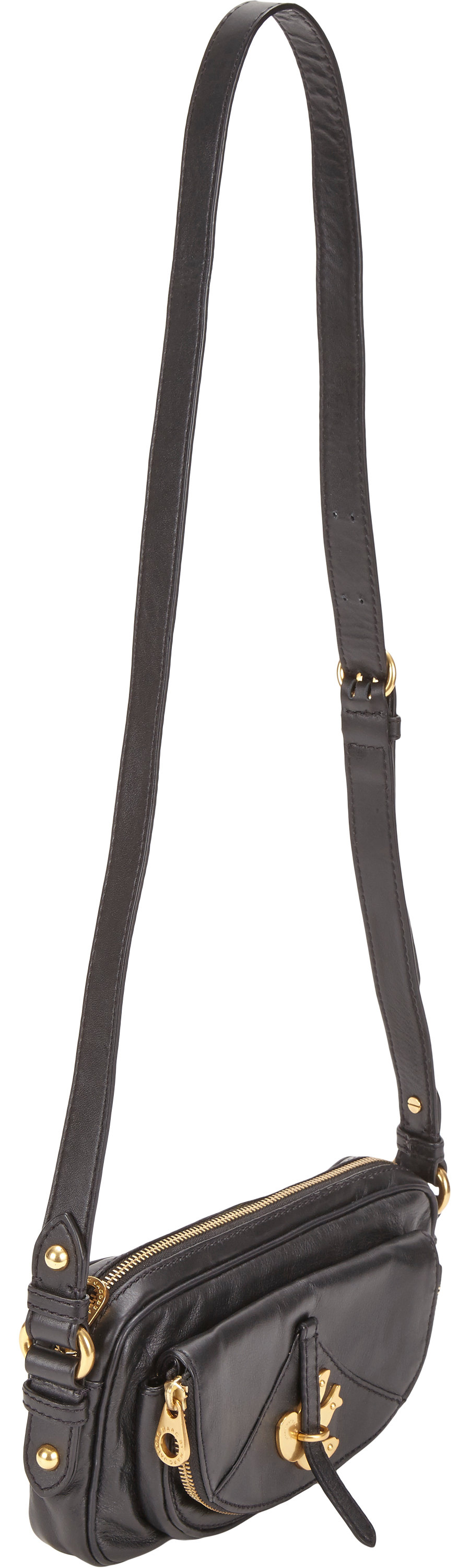 Marc By Jacobs Petal To The Metal Ava Crossbody Bag In Black Lyst Jacob Authentic Gallery