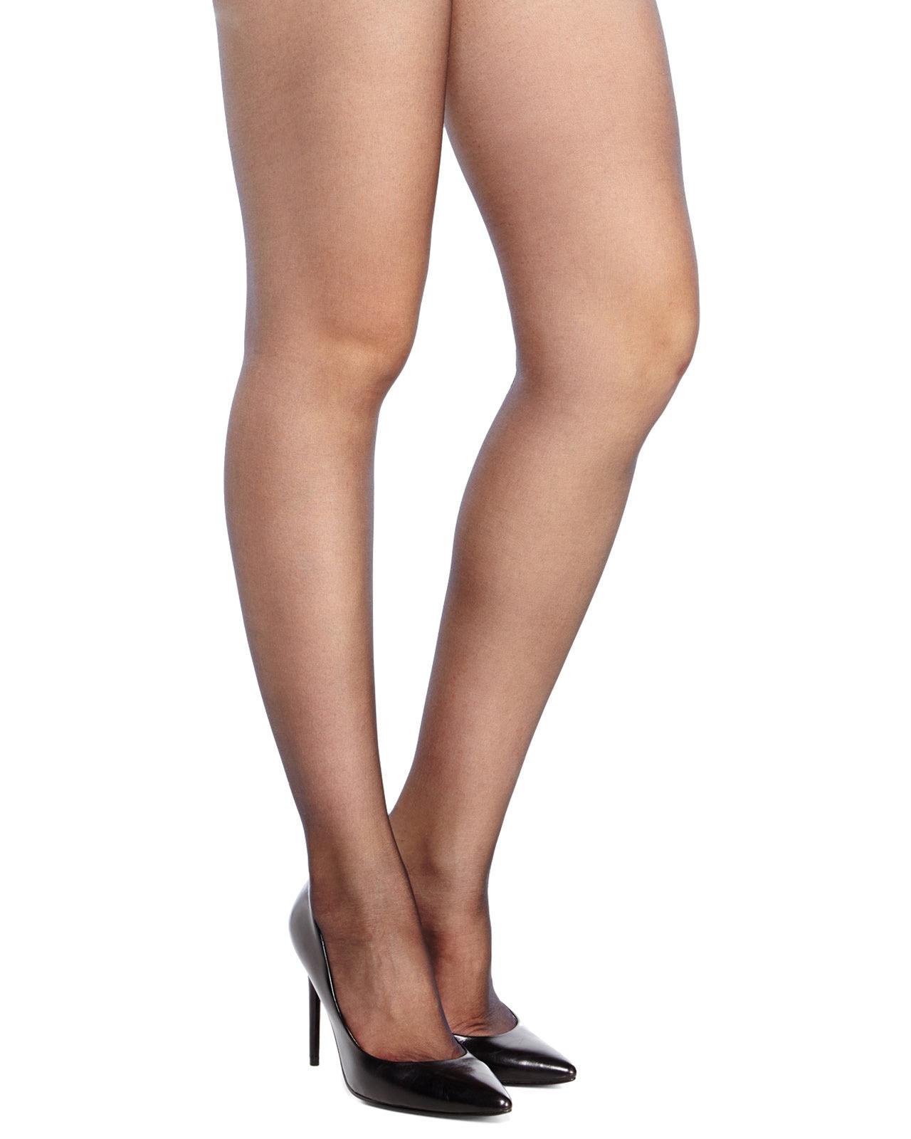 036750f9bacb6 Falke Cuban Heel Sheer Tights in Black - Lyst