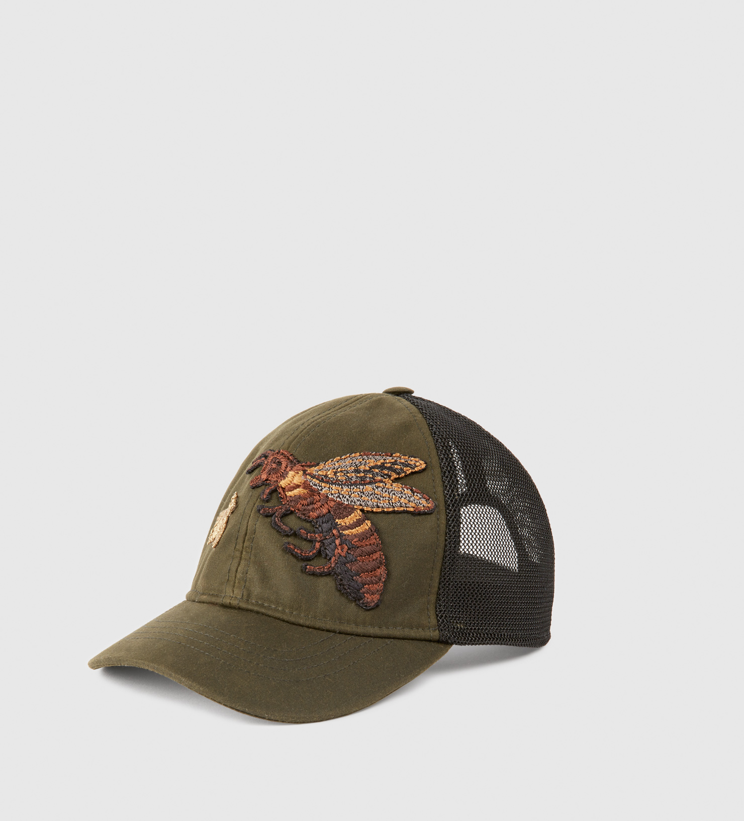 Gucci Canvas Hat With Bee Embroidery for Men - Lyst 8b6e93293da