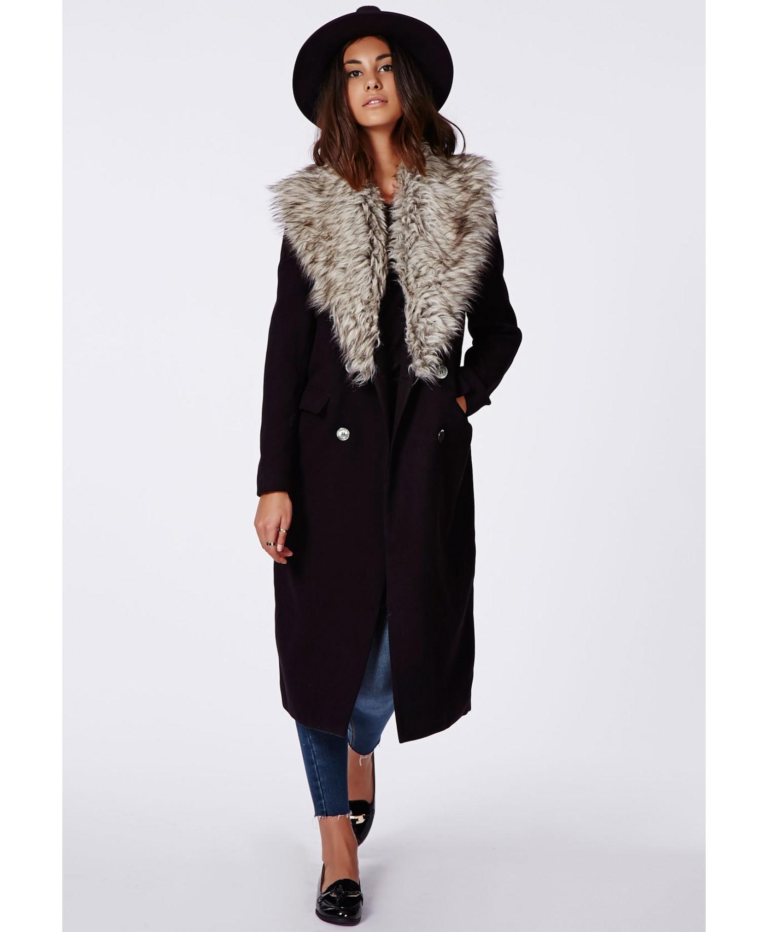 More Details Woolrich Literary Fur-Trim Cotton Parka Coat, Black Details Woolrich John Rich & Bros.