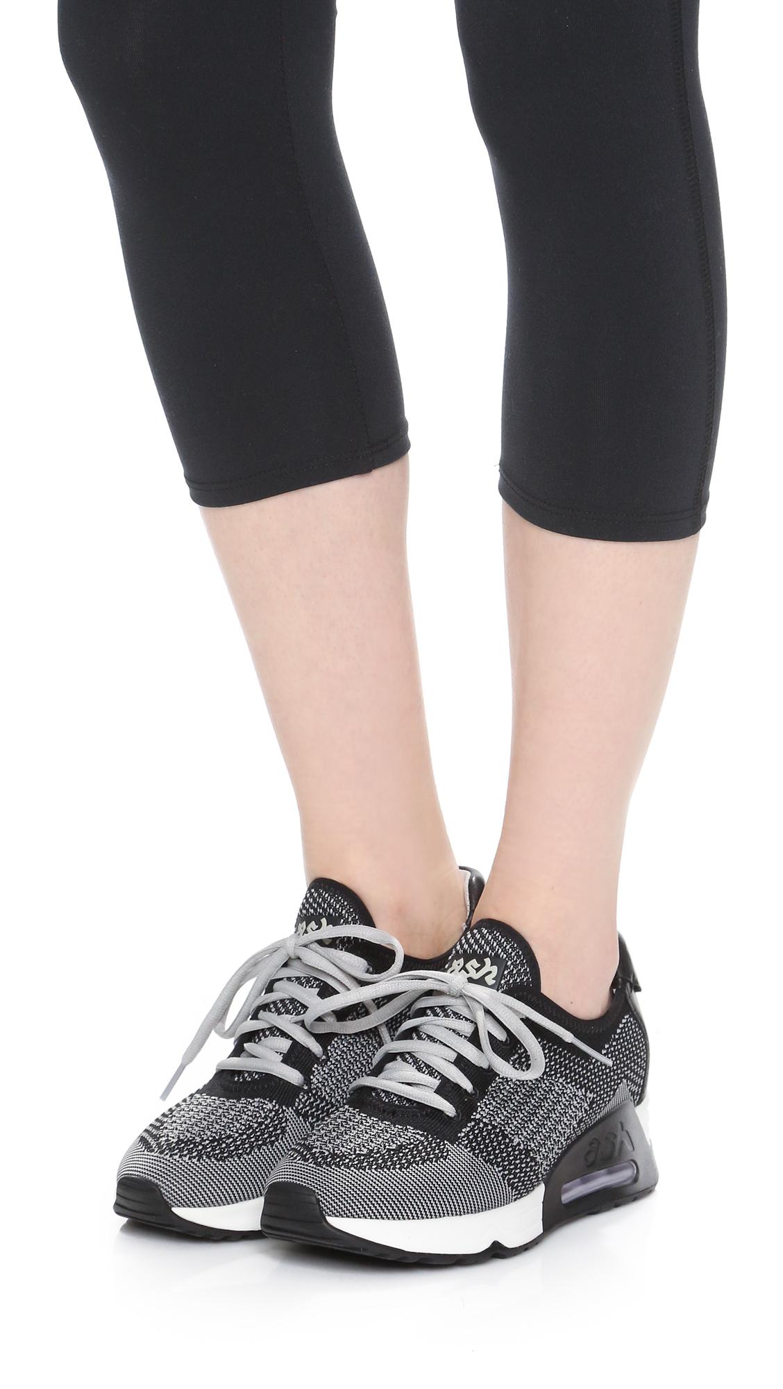 65b656d75e350 Lyst - Ash Lucky Sneakers in Black