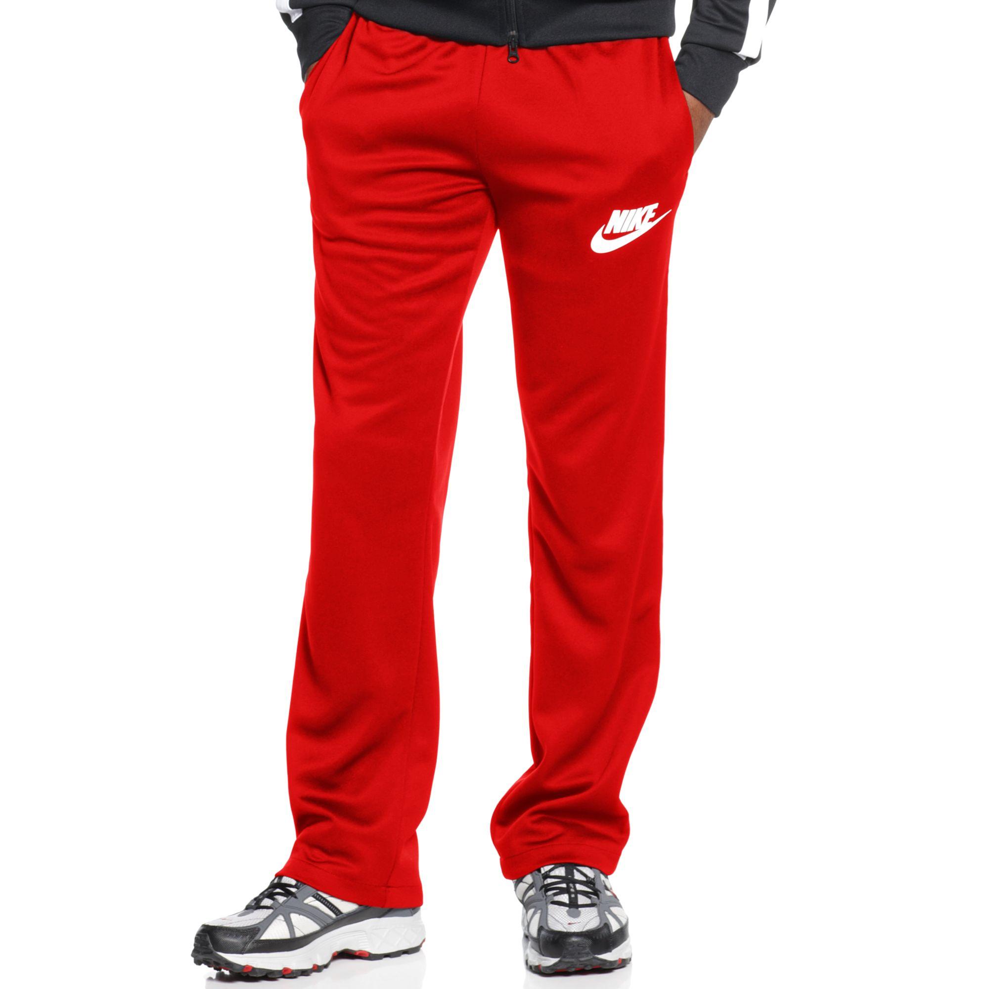 Logo Pants Lyst For Red Men In Nike Track 5PfwTq