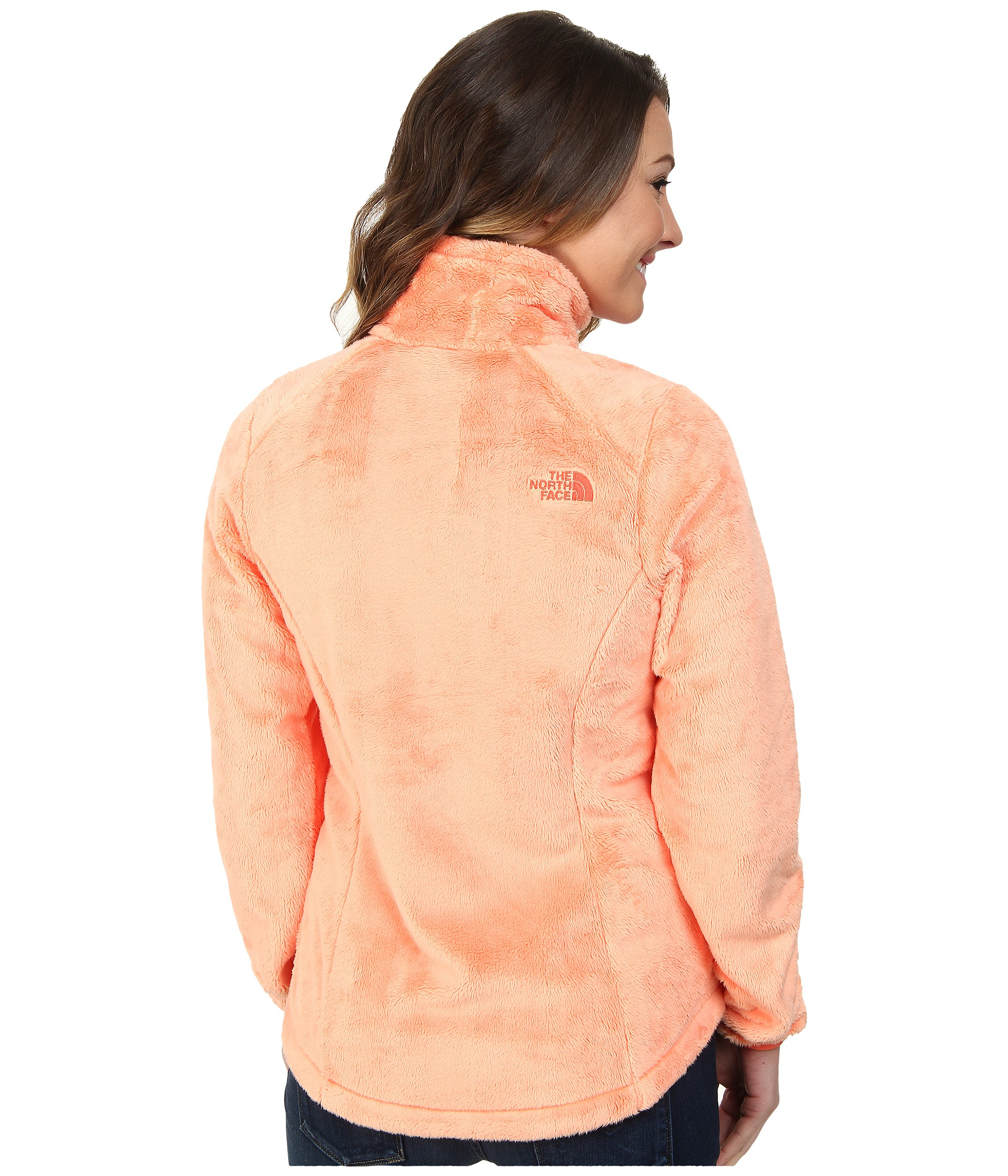 The North Face Womens Osito 2 Fleece Jacket Lyst - The North Face Osito 2  Jacket in Orange ... 99eeccfe0