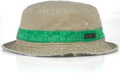 41cd4fbb9 ... Men s POLO-RALPH LAUREN Reversible PONY Bucket Hat (L-XL .