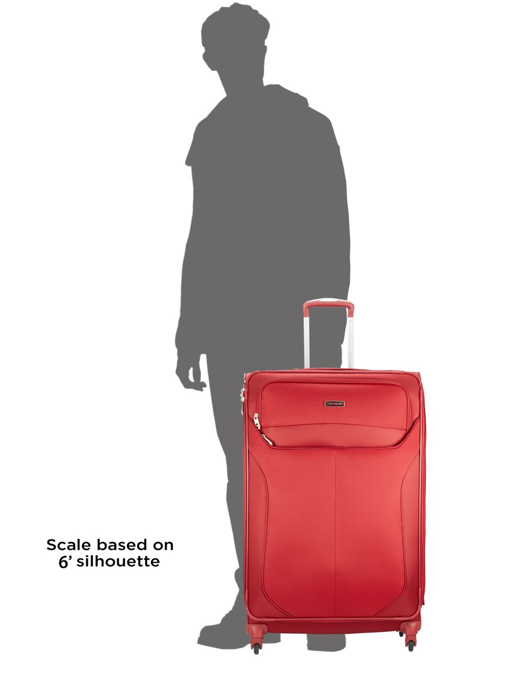71eb5a384 Samsonite 29-inch Red Spinner Suitcase in Red for Men - Lyst
