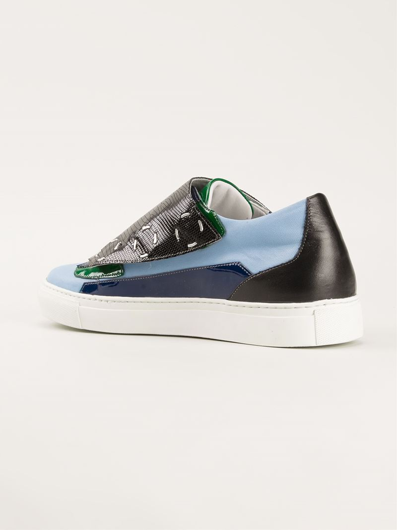 Raf Simons Black Patent Shoes