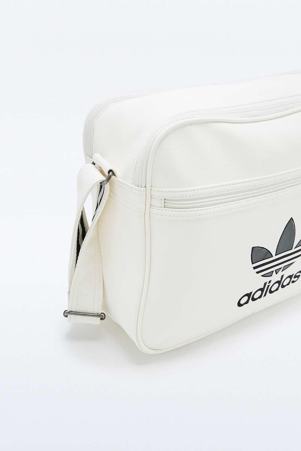54546f9b3c77 adidas Originals Classic White Airliner Bag in White - Lyst