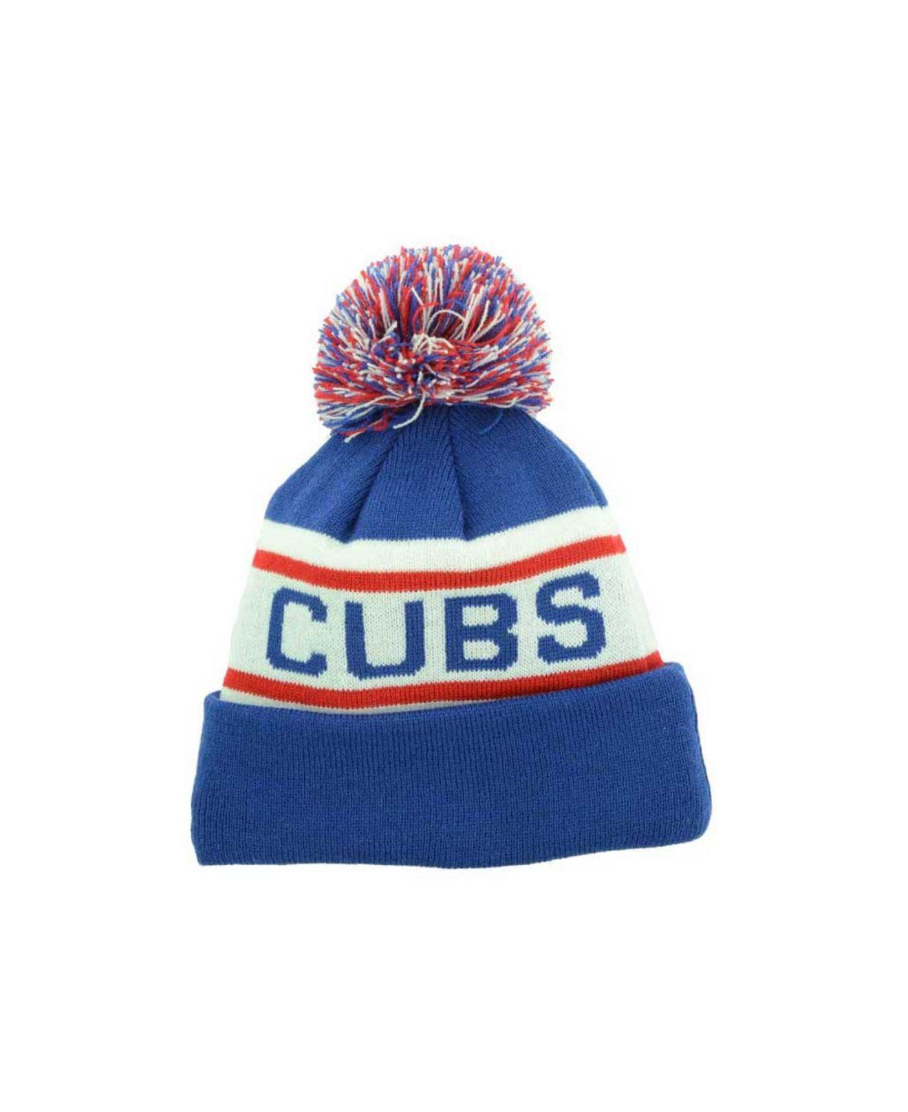 Lyst - KTZ Kids  Chicago Cubs Biggest Fan Knit Hat in Blue for Men 26bb940a26b