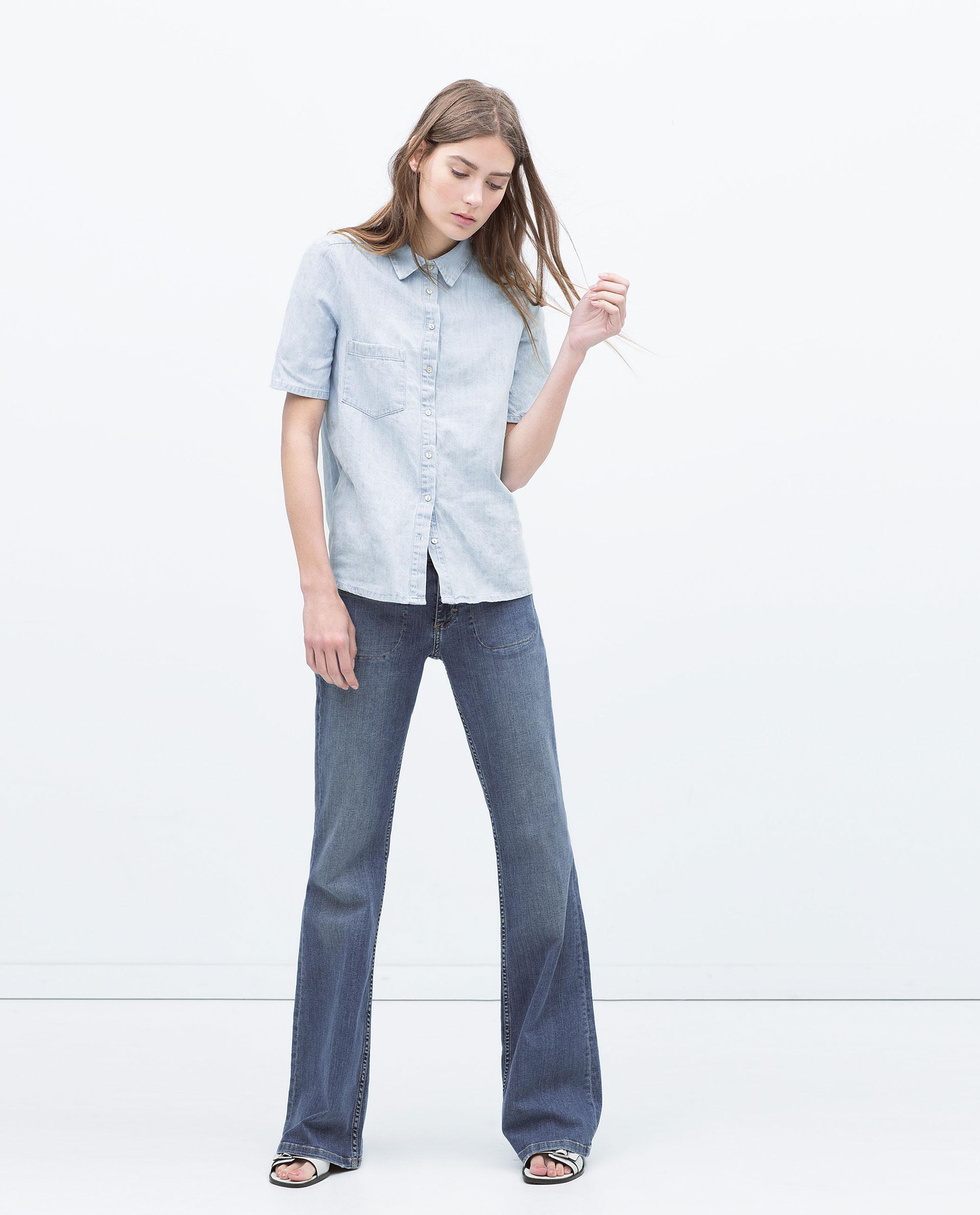 denim shirt pockets - photo #2