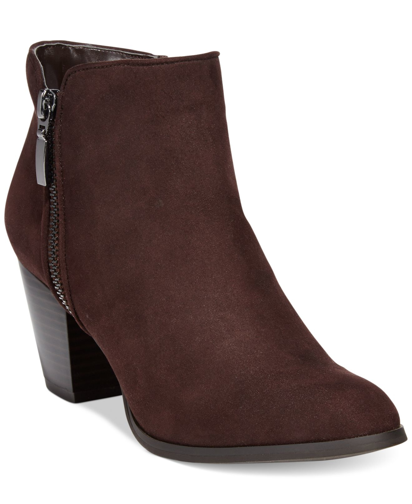 style co style co jamila zip booties only at macy s