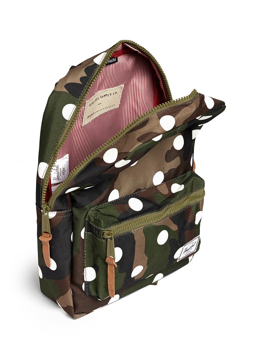 9e47e0fa486 Herschel Supply Co. Settlement Backpack in Green for Men - Lyst