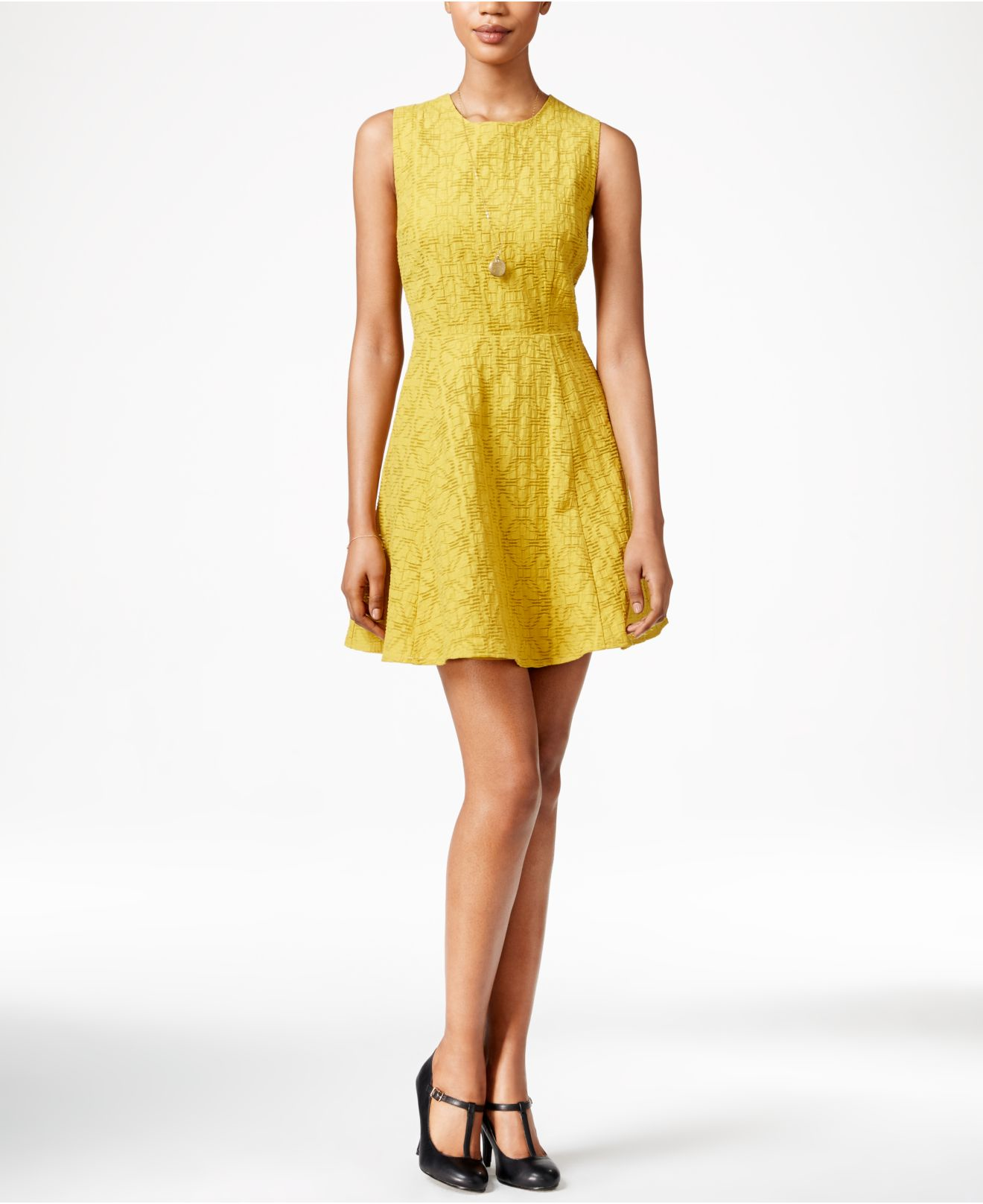 Beautiful Yellow Dress Macys Images - Plus Size Clothing - bongartz.us