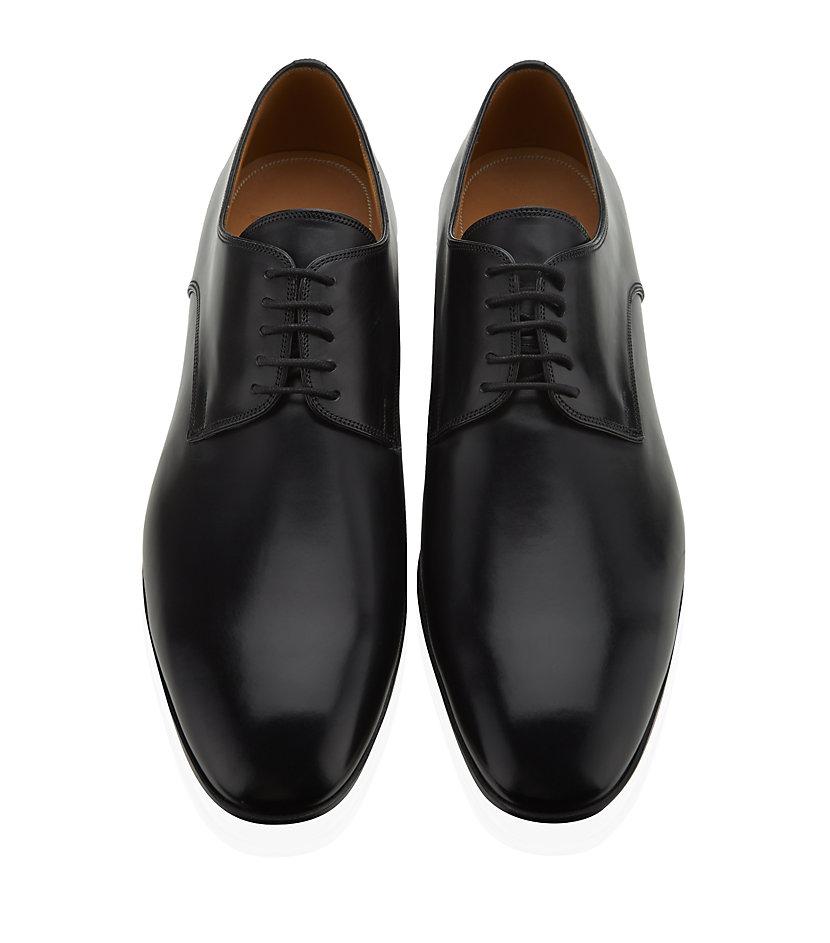Bally Derby Shoe In Black For Men Lyst