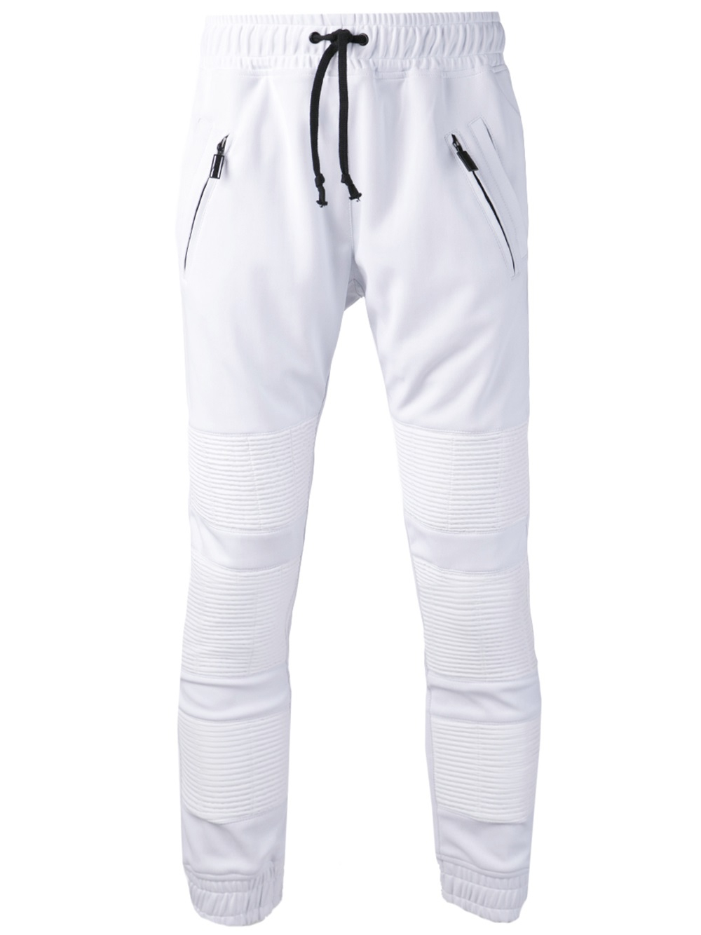 En noir Pleated Sweatpants in White for Men | Lyst