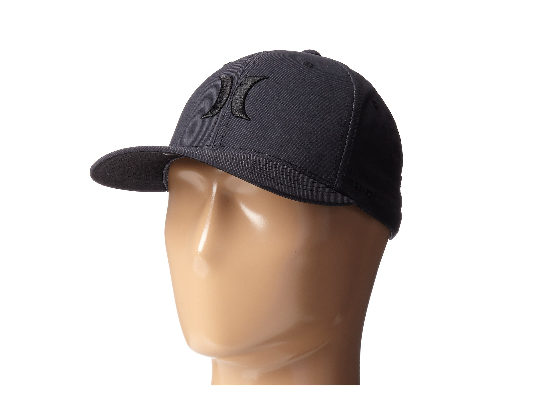 ... where to buy lyst hurley dry out flexfit permacurve hat in blue for men  f5444 dda2d 2b91724ade3