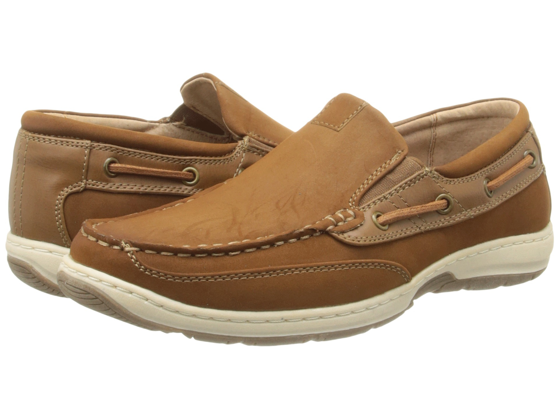 Lyst Nunn Bush Outboard Moc Toe Slip On Boat Shoe In