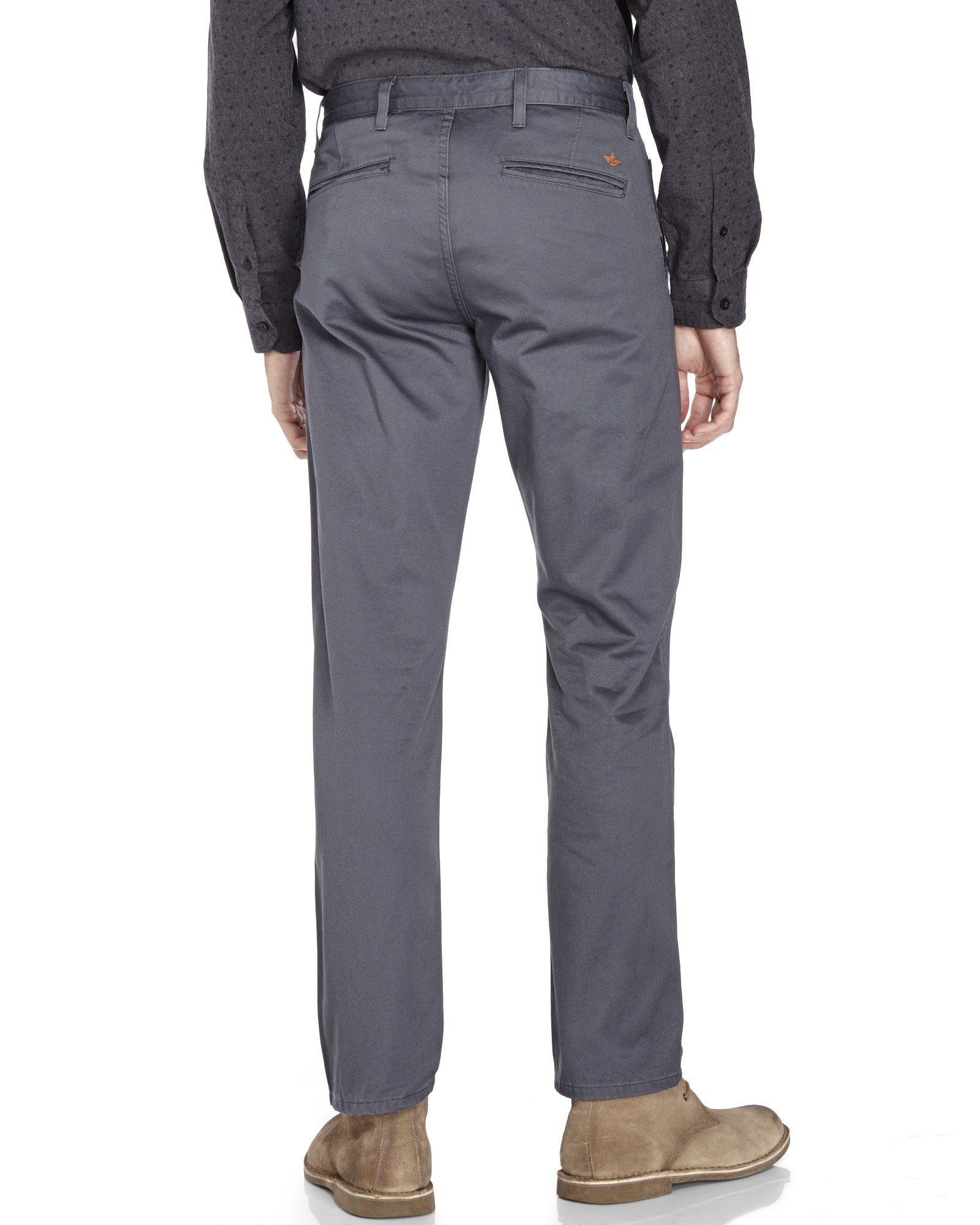 Dockers Grey Alpha Collection Khaki Pants in Gray for Men | Lyst