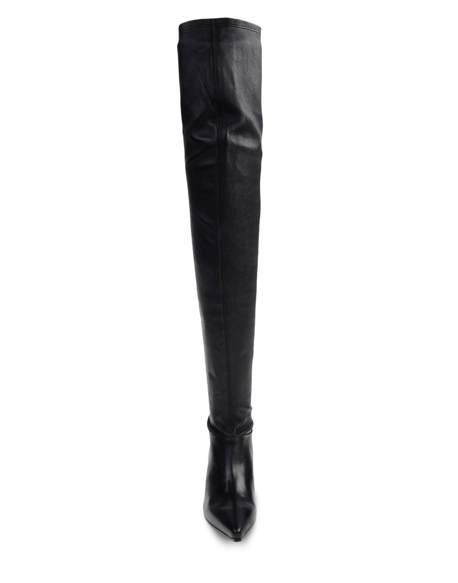 vic mati over the knee boots in black lyst. Black Bedroom Furniture Sets. Home Design Ideas