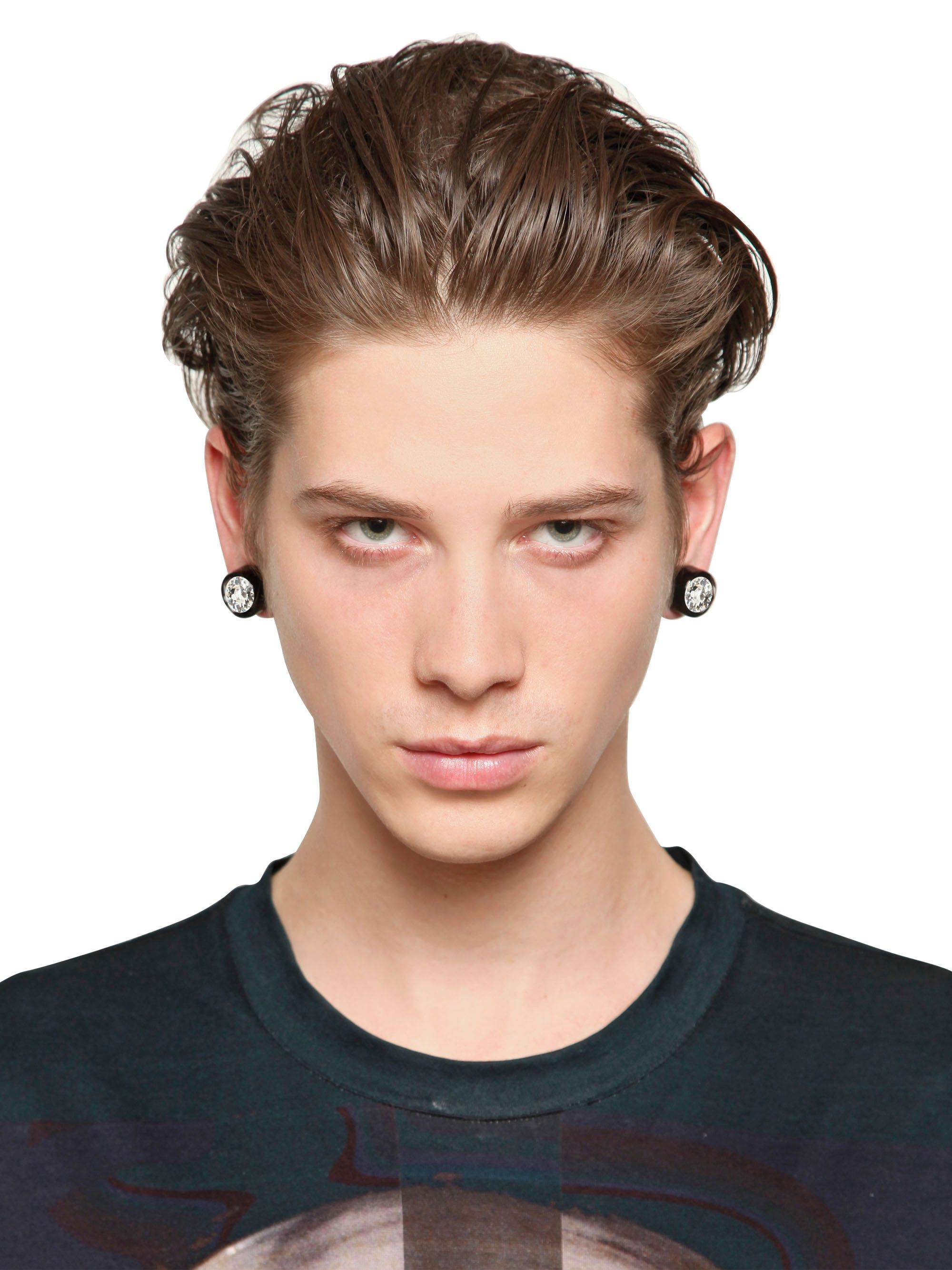 Givenchy Svarowsi Crystals Magnetic Earrings Lyst Men S Givenchy Jewelry  From 162 Lyst