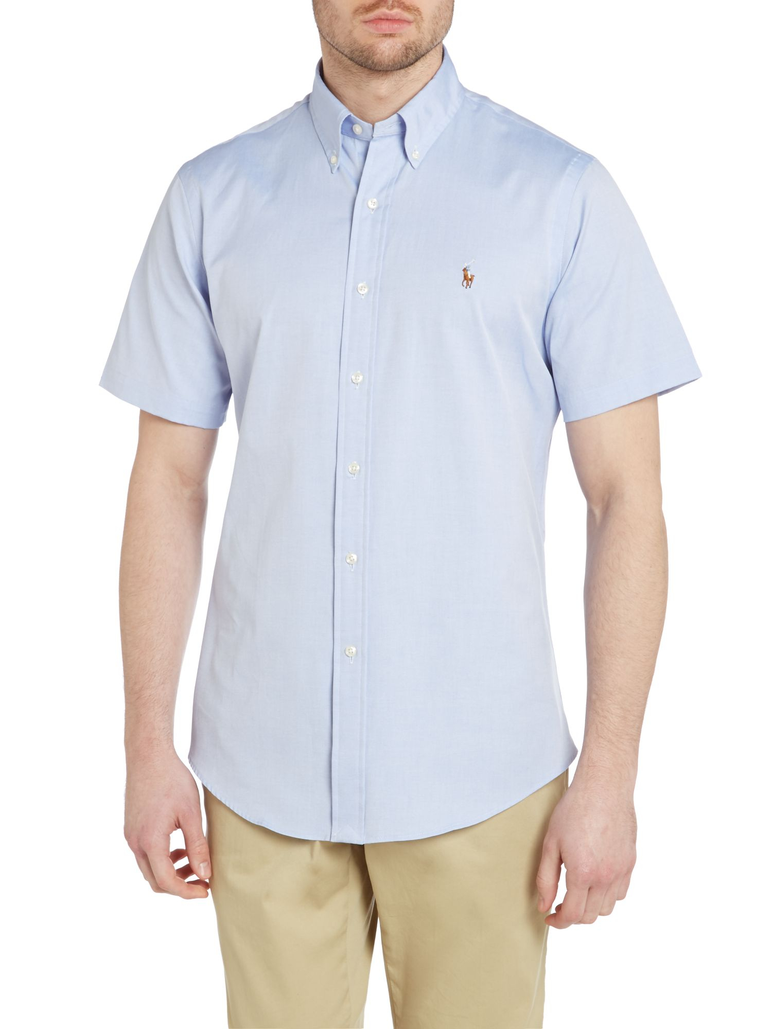 Polo Ralph Lauren Classic Short Sleeve Custom Fit Oxford