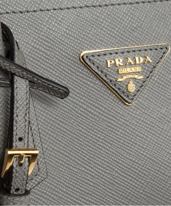 f7ad5723c27aa8 Prada B2756T Bag - F0K44 Marble (Marble Grey) Saffiano Cuir . ...
