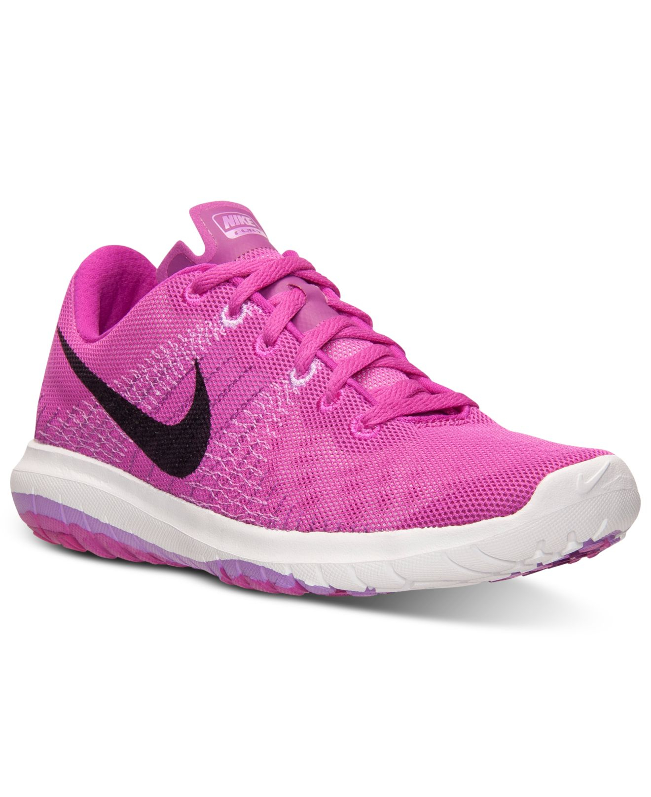 sports shoes f098f eebd2 Nike Purple Women's Flex Fury Running Sneakers From Finish Line