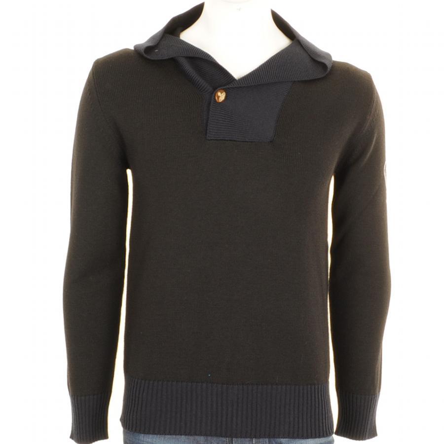 Lyst - Vivienne Westwood Shawl Collar Jumper in Black for Men b6458063e