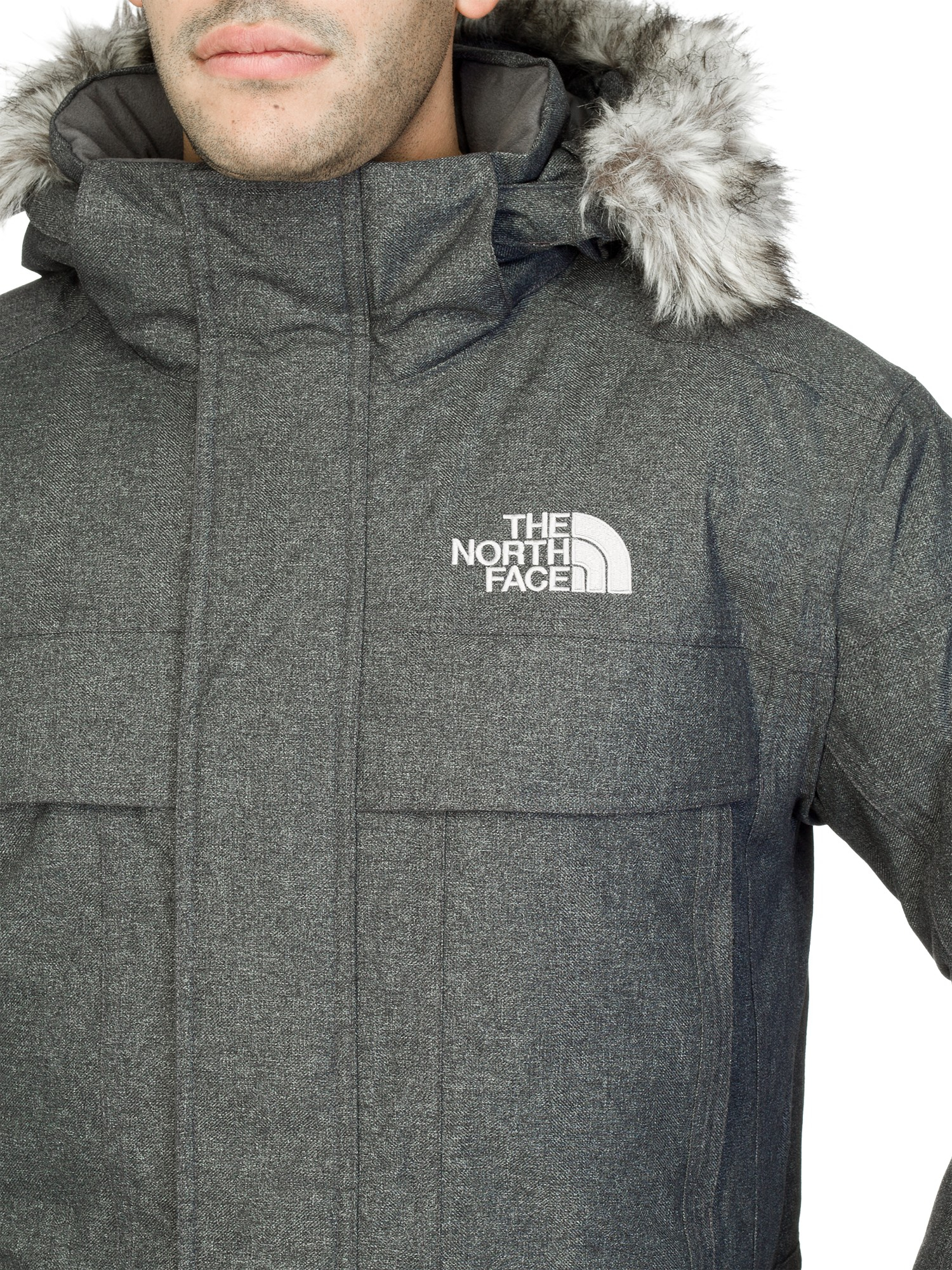 ... cheap the north face mens mcmurdo parka jacket in gray for men lyst  51ead 4ab78 27ec3fee8