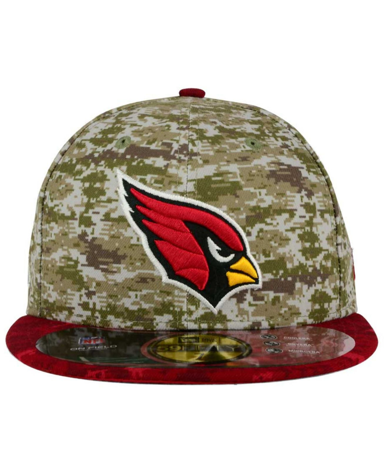 8183749fb368f9 ... usa lyst ktz arizona cardinals salute to service 59fifty cap in green  96c2a c44e8